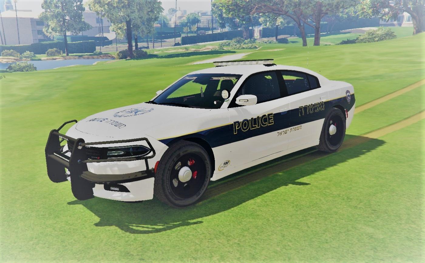 2015 Dodge charger   ISPD police car   ניידת משטרה - GTA5 ... 2015 Police Charger