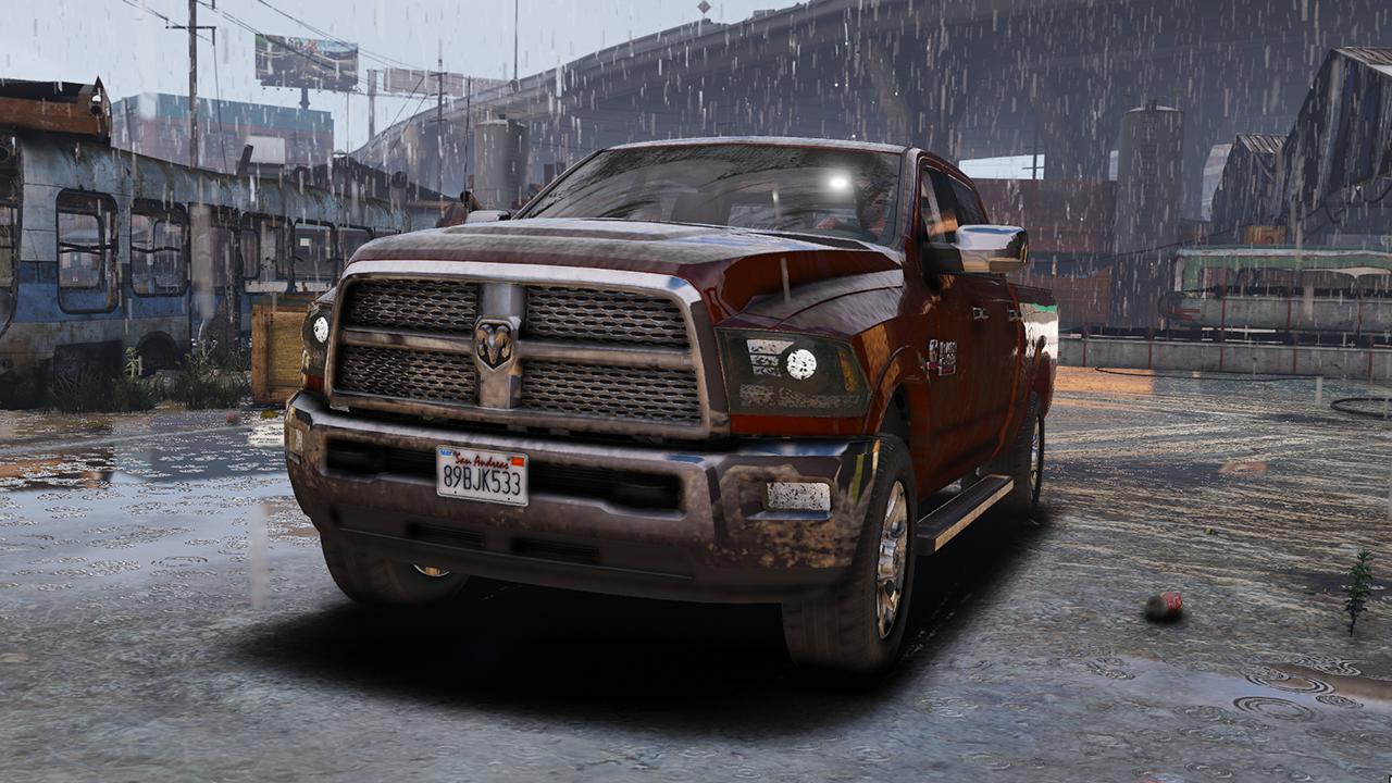 2015 Dodge Ram 2500  Add-on
