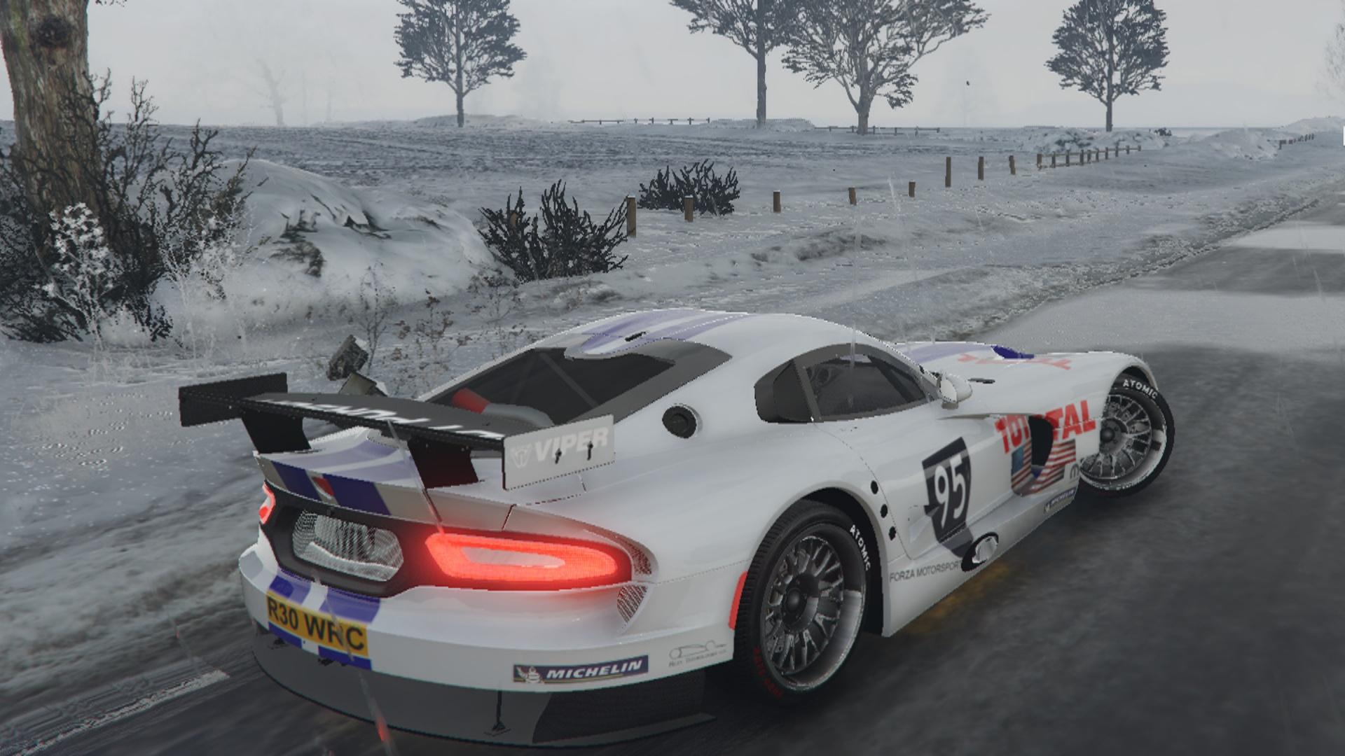 2015 dodge viper gts-r custom livery - gta5-mods