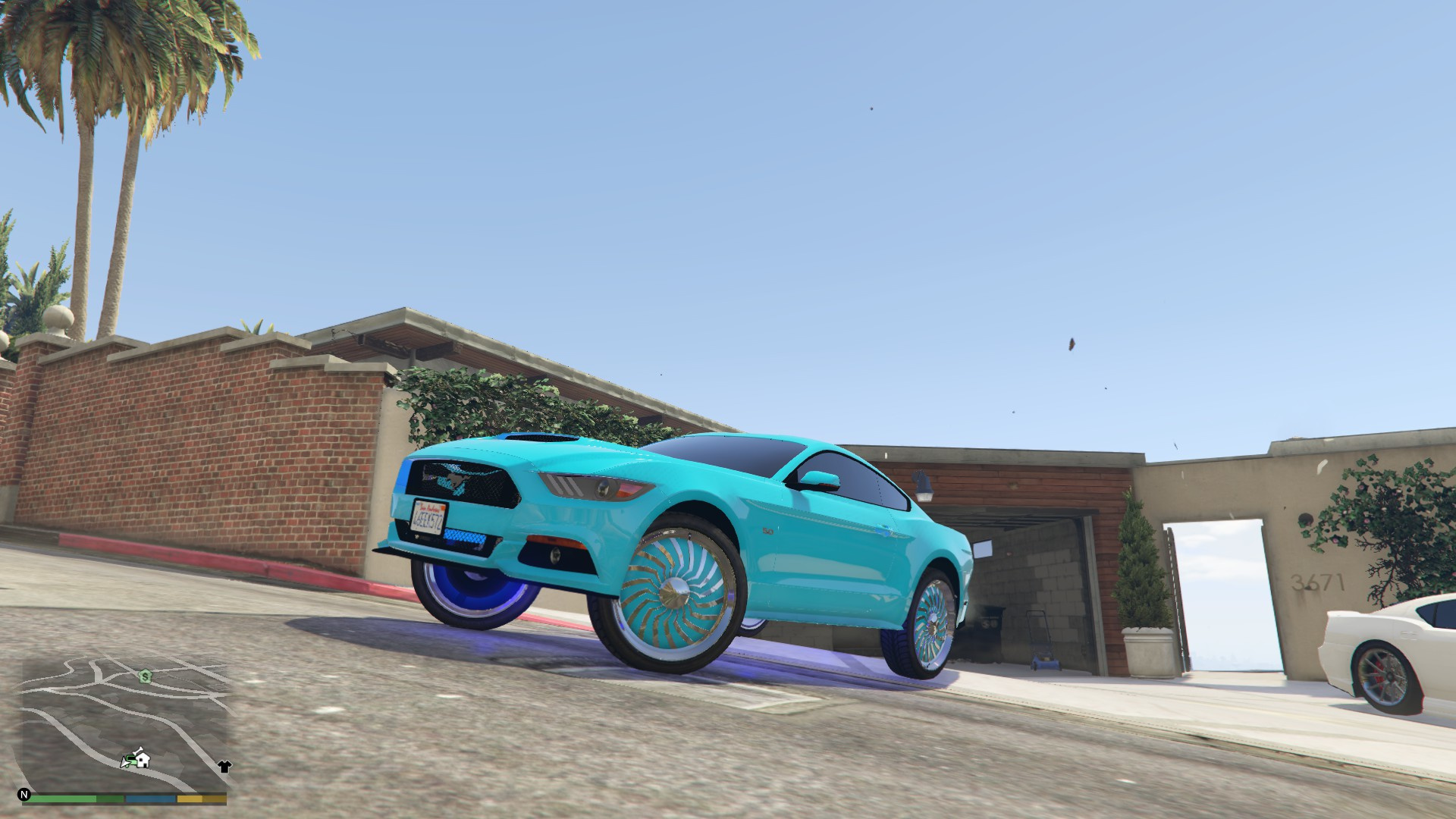 2015 Ford Mustang Donk Model Gta5 Modscom