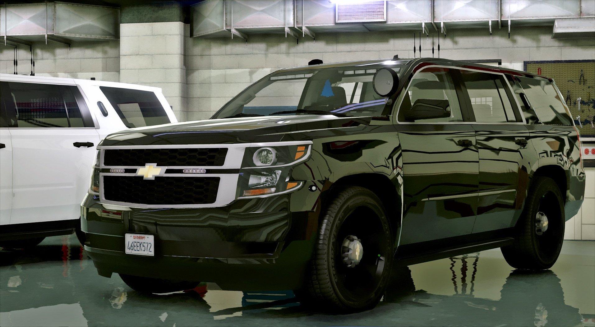 2015 Unmarked Police Tahoe [ELS] - GTA5-Mods.com
