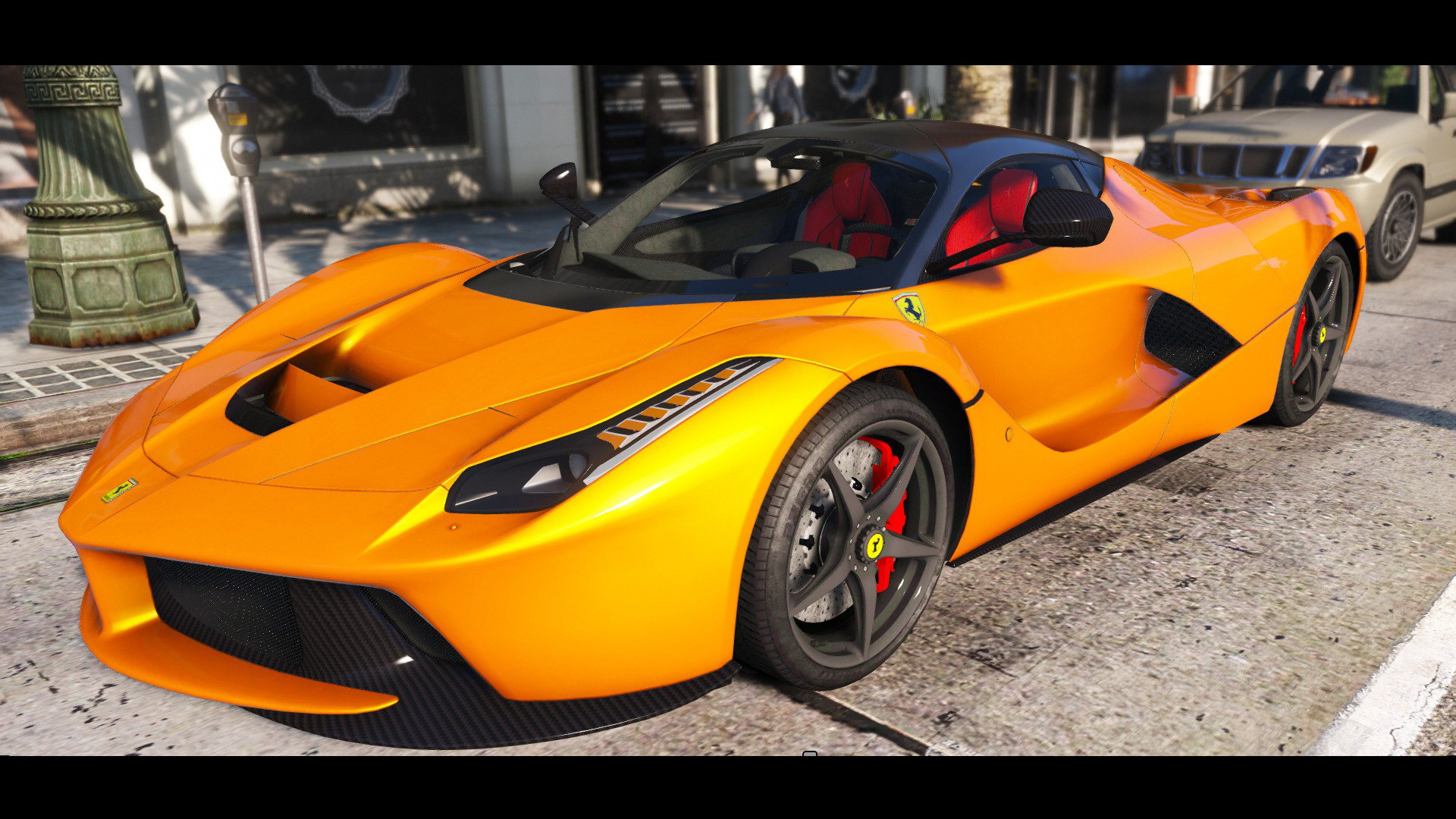 2015 ferrari laferrari hq re worked animated engine digitaldials spoiler gta5. Black Bedroom Furniture Sets. Home Design Ideas