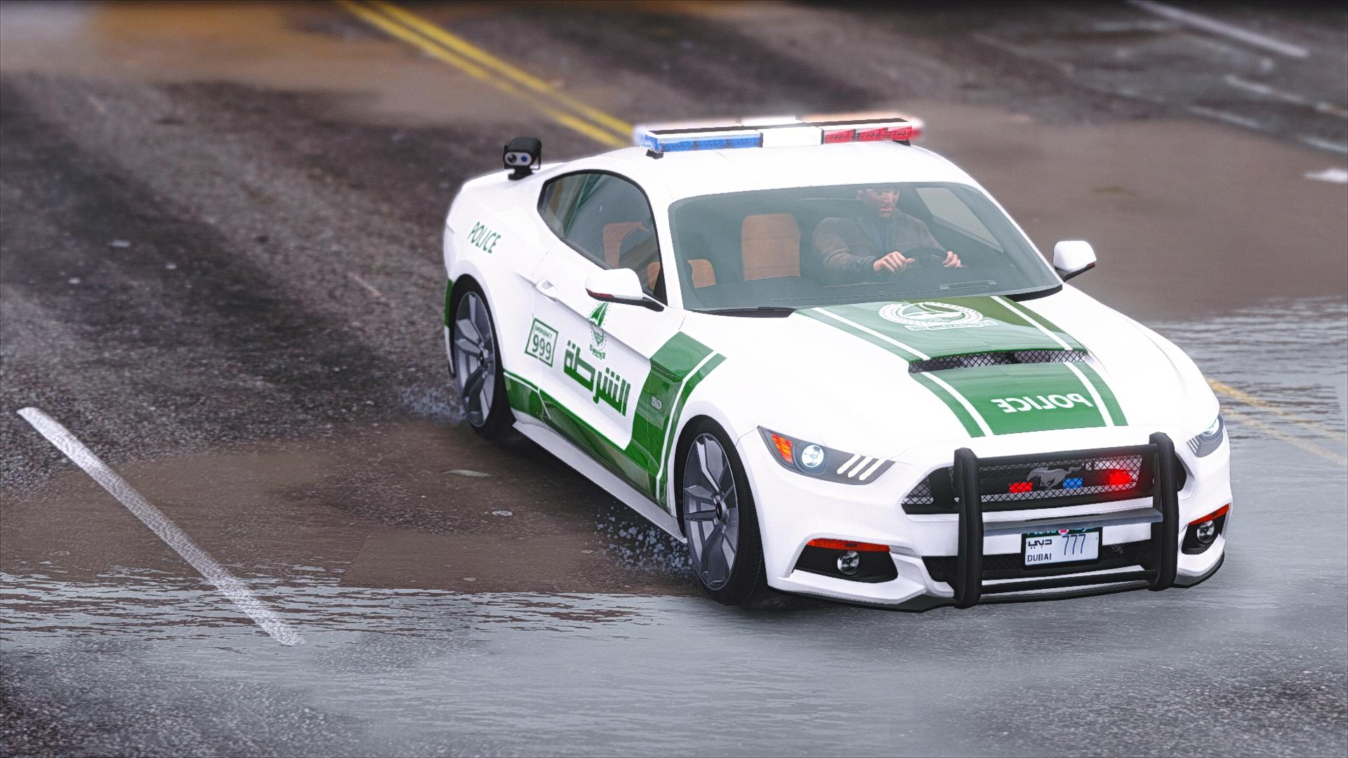 2015 Ford Mustang Dubai Police - GTA5-Mods com