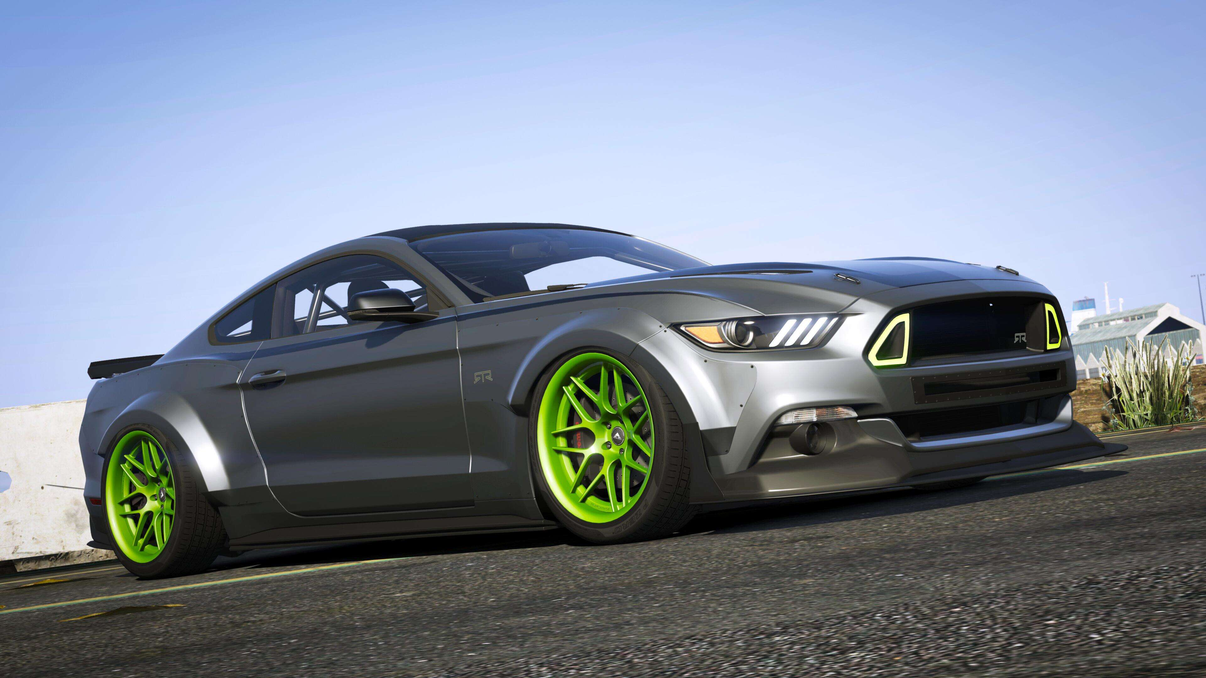 2015 ford mustang gt rtr spec5 add on gta5. Black Bedroom Furniture Sets. Home Design Ideas