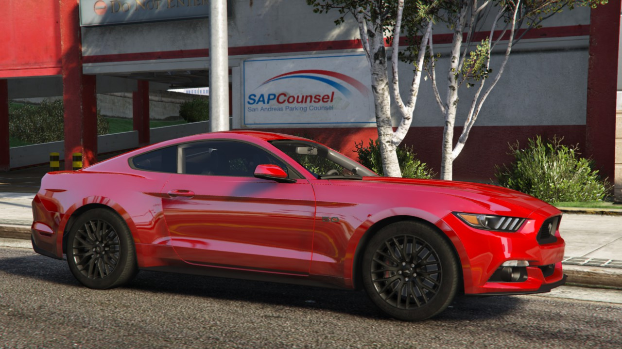 2015 ford mustang gt rtr spec5 add on gta5 - Mustang modification ...