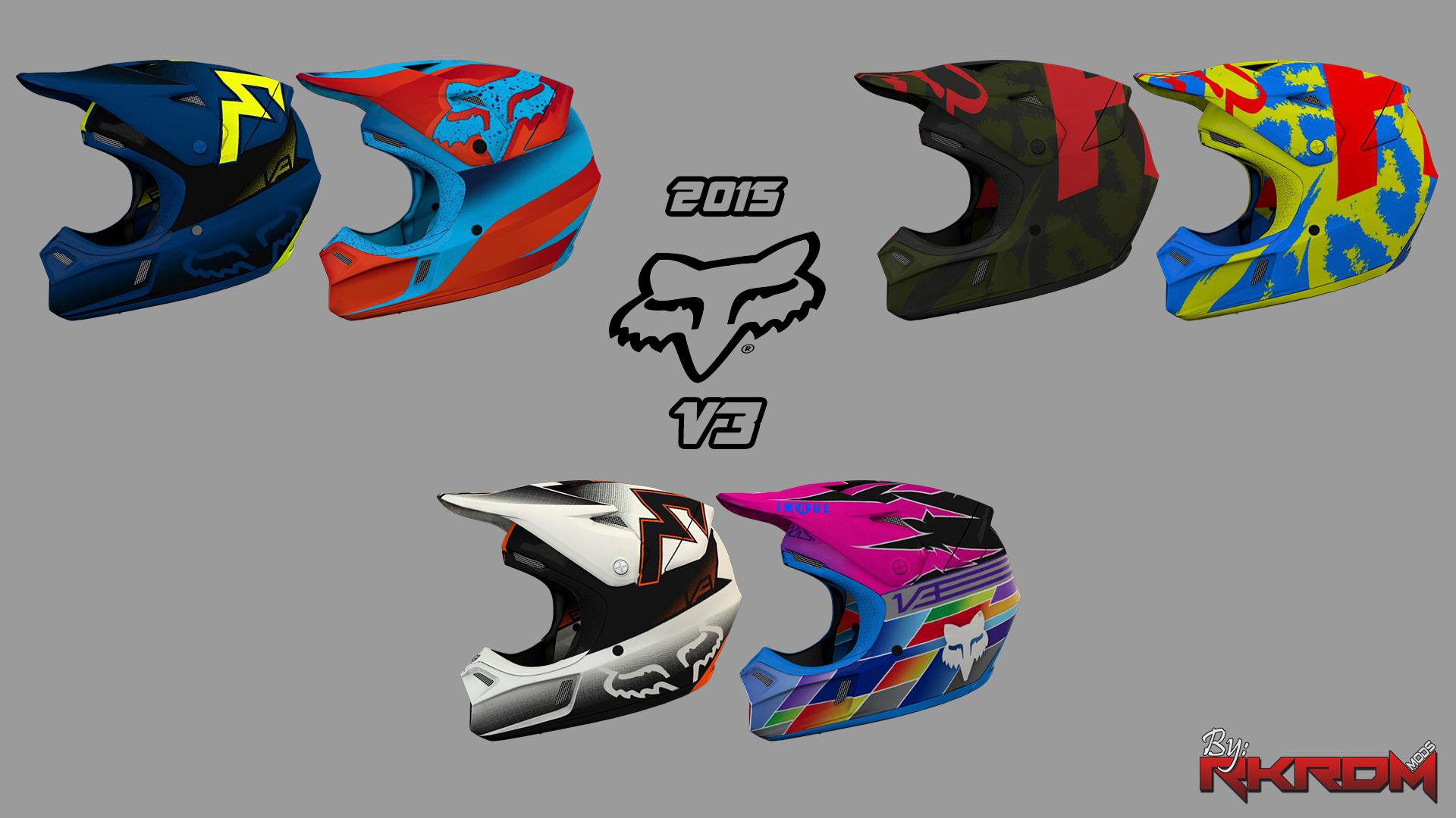 fd2c11c0 2015 FOX V3 Helmets + Shift Faction Goggles - GTA5-Mods.com