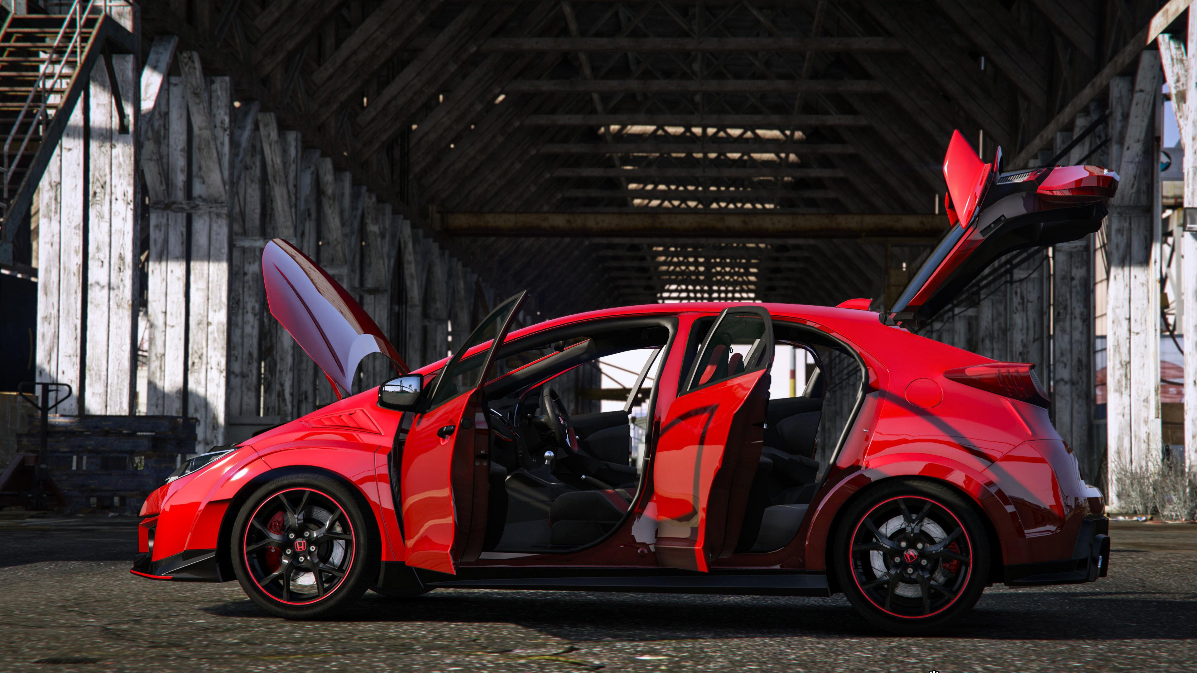 2015 Honda Civic Type R Fk2 Modulo Rhd Gta5 Mods Com