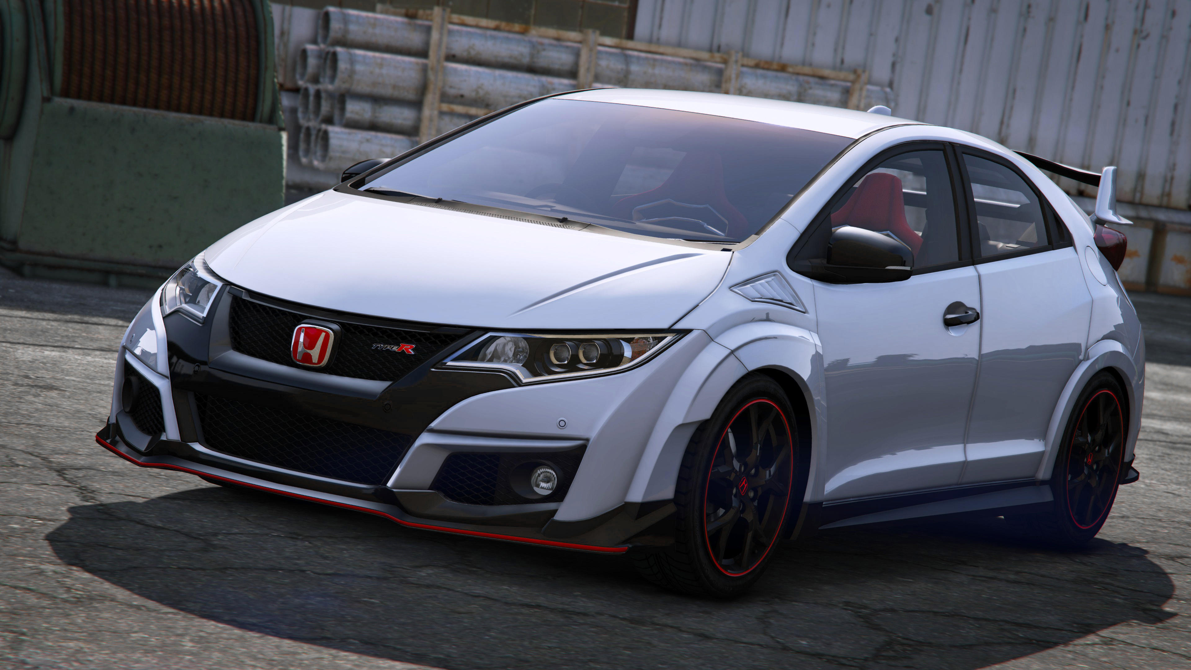 2015 honda civic type r fk2 add on rhd gta5