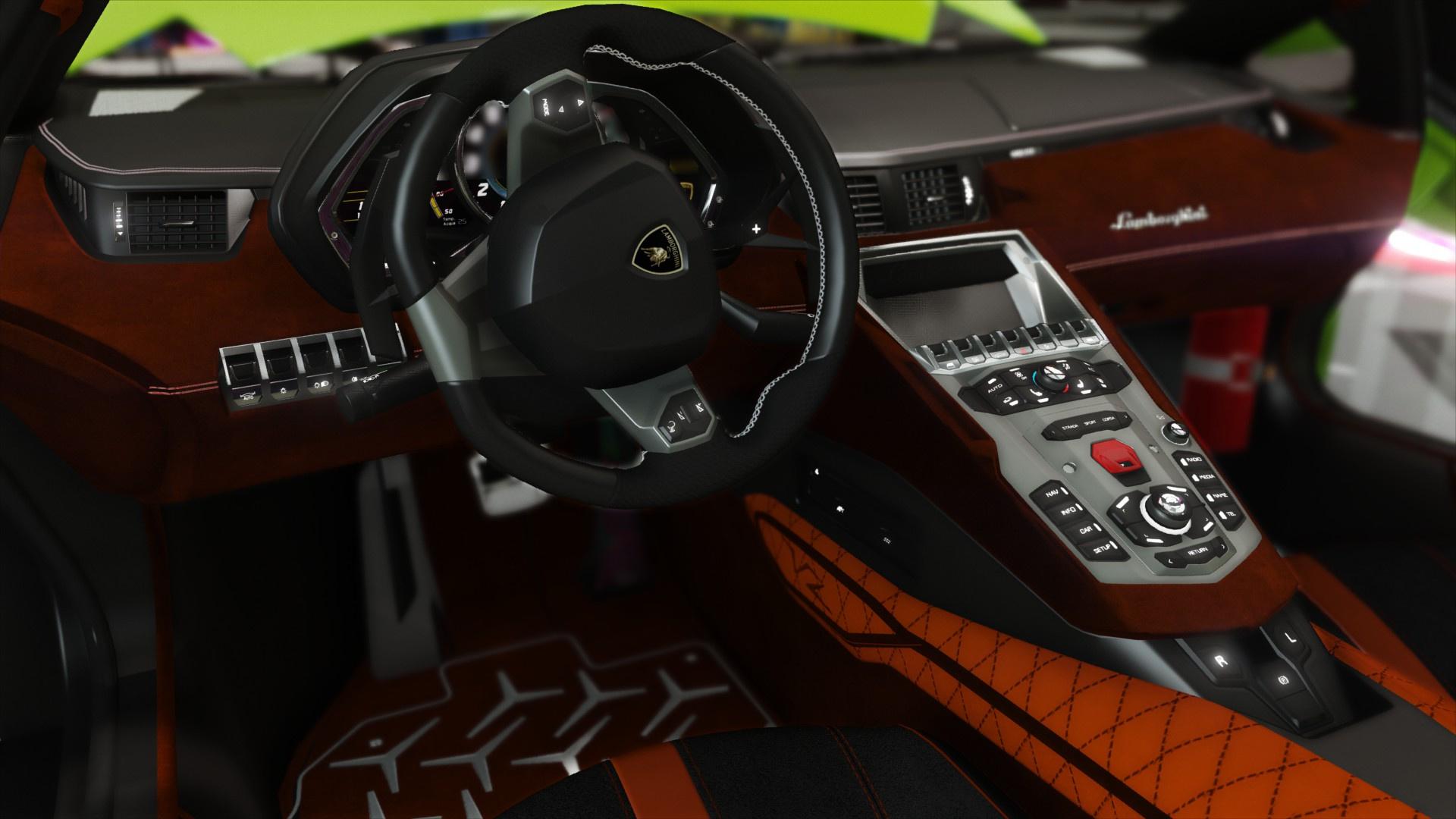 2015 Lamborghini Aventador LP700-4 [Add-On | SV-Kit | Stock ...