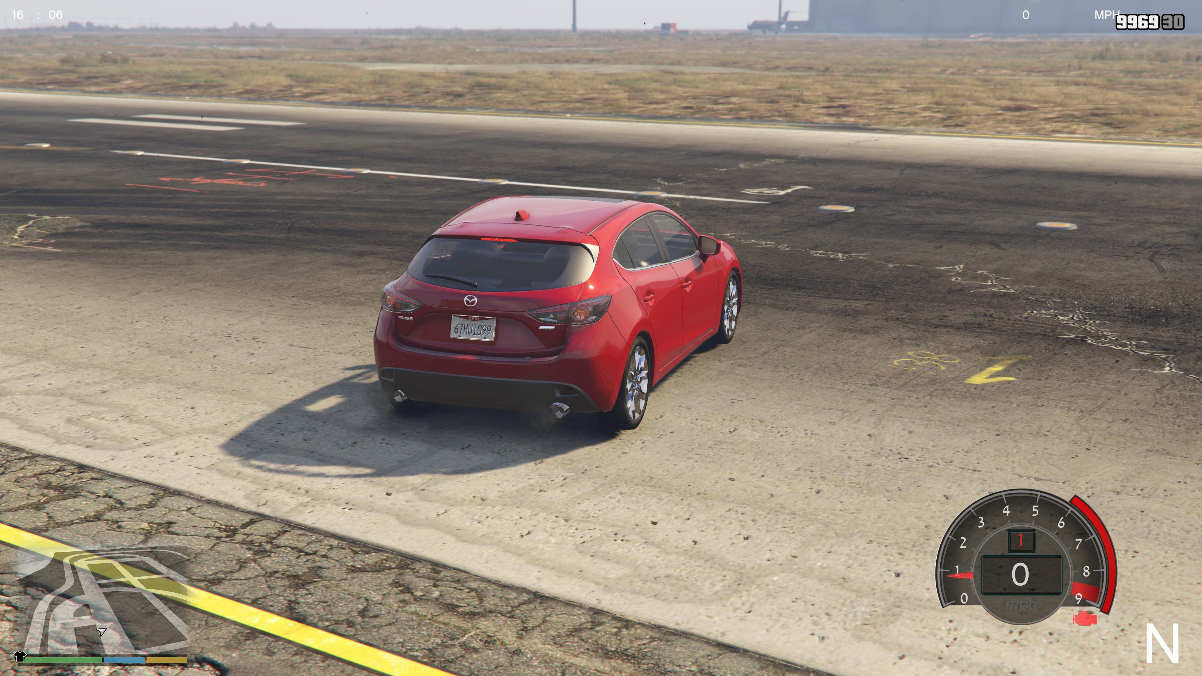 Mazda 3 Mods >> 2015 Mazda 3 S Sedan Hatchback Replace Gta5 Mods Com