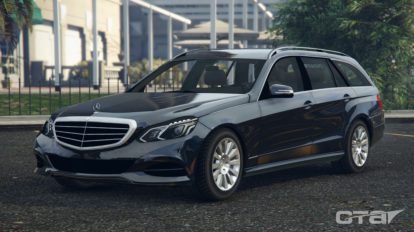 2015 mercedes benz e klasse t modell estate gta5. Black Bedroom Furniture Sets. Home Design Ideas