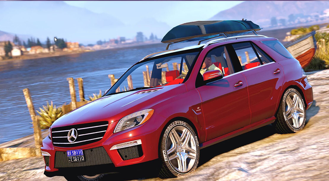 2015 Mercedes-Benz ML63 AMG - GTA5-Mods com