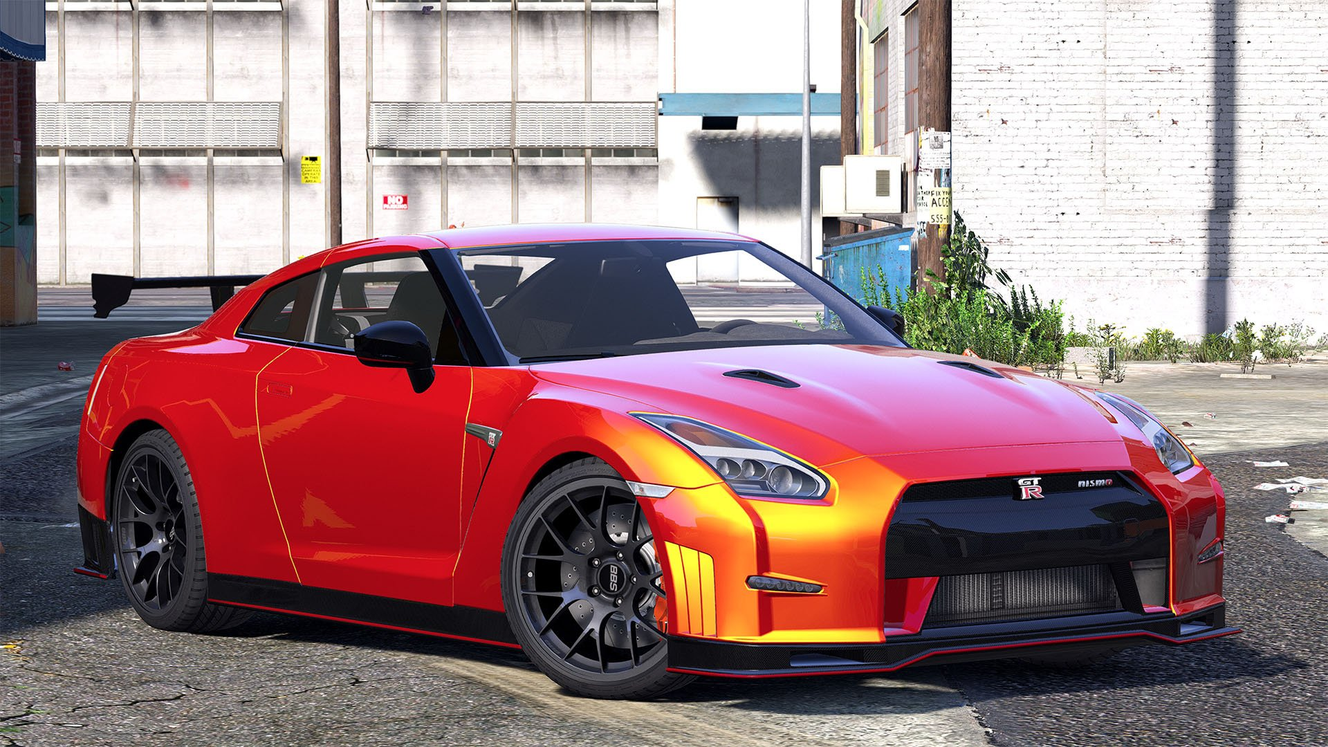 2015 Nissan Gt R 35 Nismo Add On Replace Animated