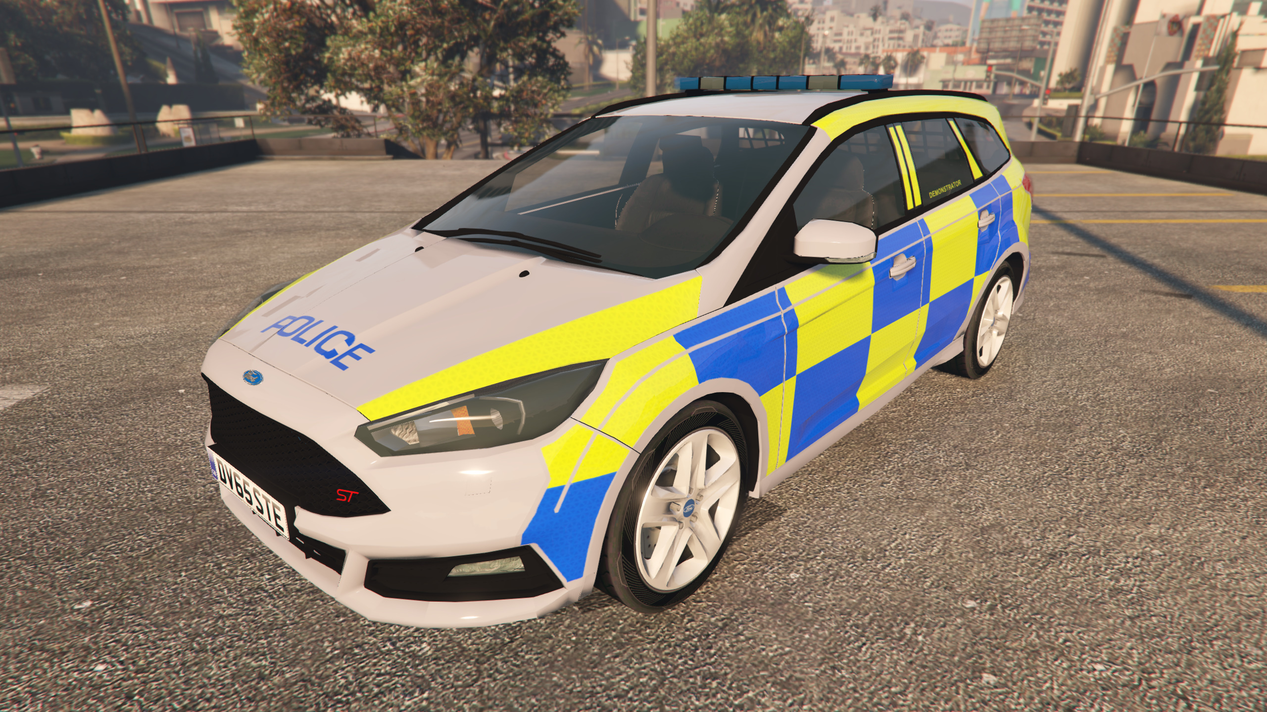 2015 police ford focus st estate gta5. Black Bedroom Furniture Sets. Home Design Ideas