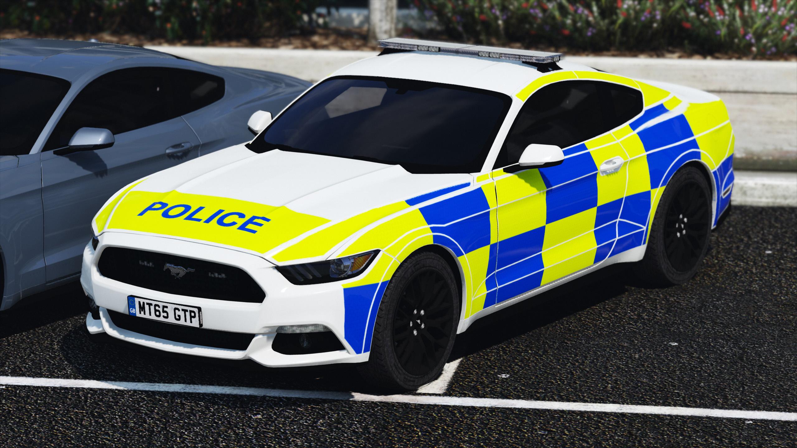 2015 police ford mustang showcar pack gta5. Black Bedroom Furniture Sets. Home Design Ideas