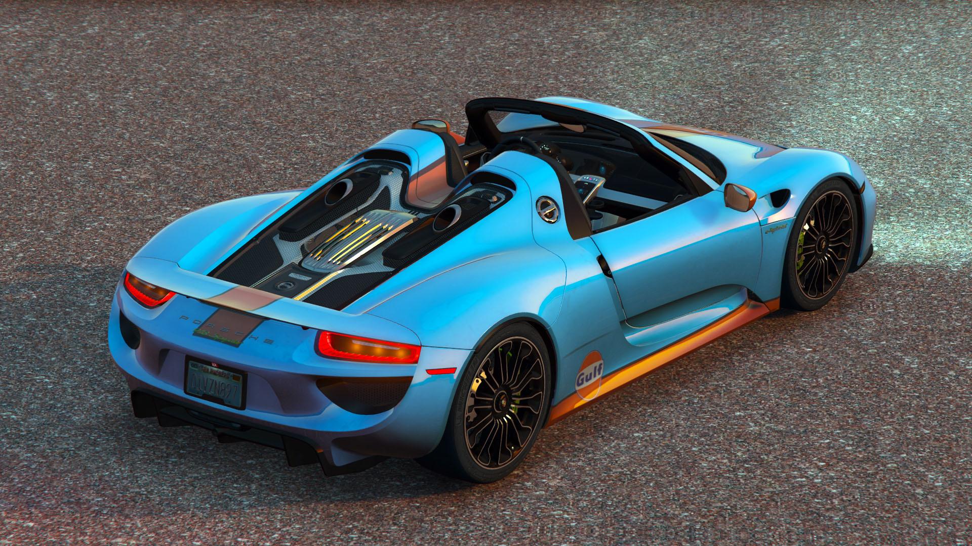 8f33ac-3 Stunning Porsche 918 Spyder Paint Job Cars Trend