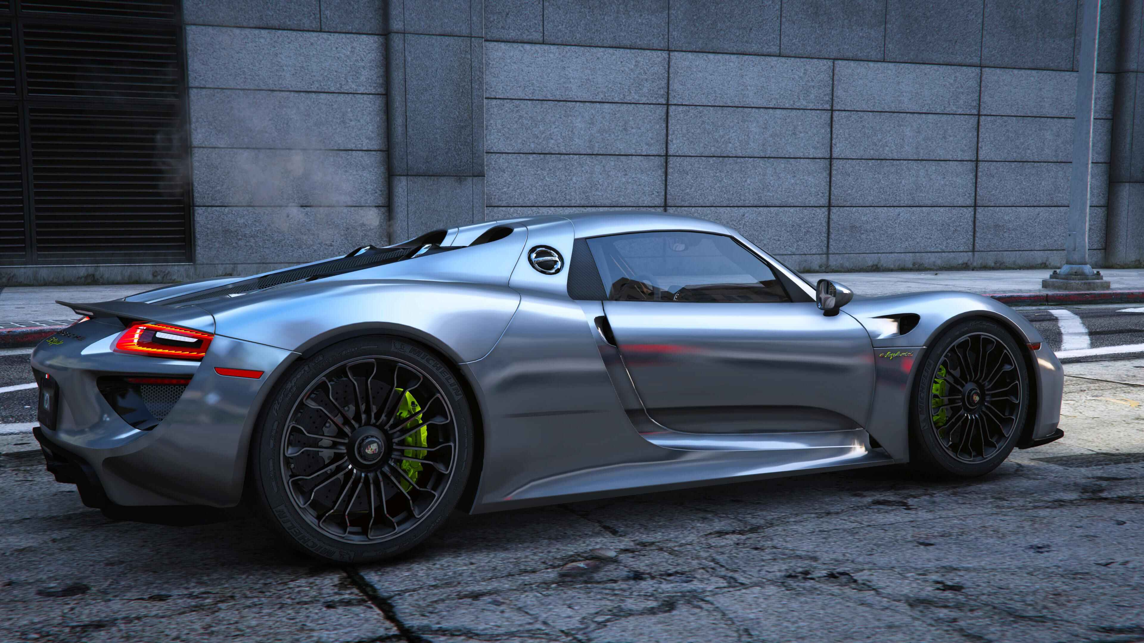 2015 Porsche 918 Spyder Amp Weissach Kit Add On Real