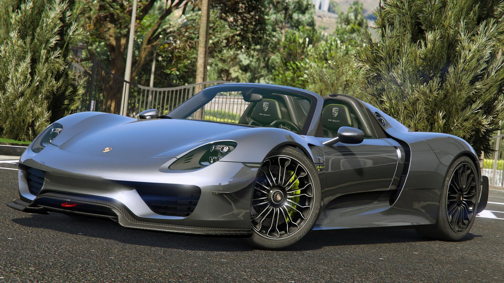 2015 porsche 918 spyder weissach kit add on gta5. Black Bedroom Furniture Sets. Home Design Ideas