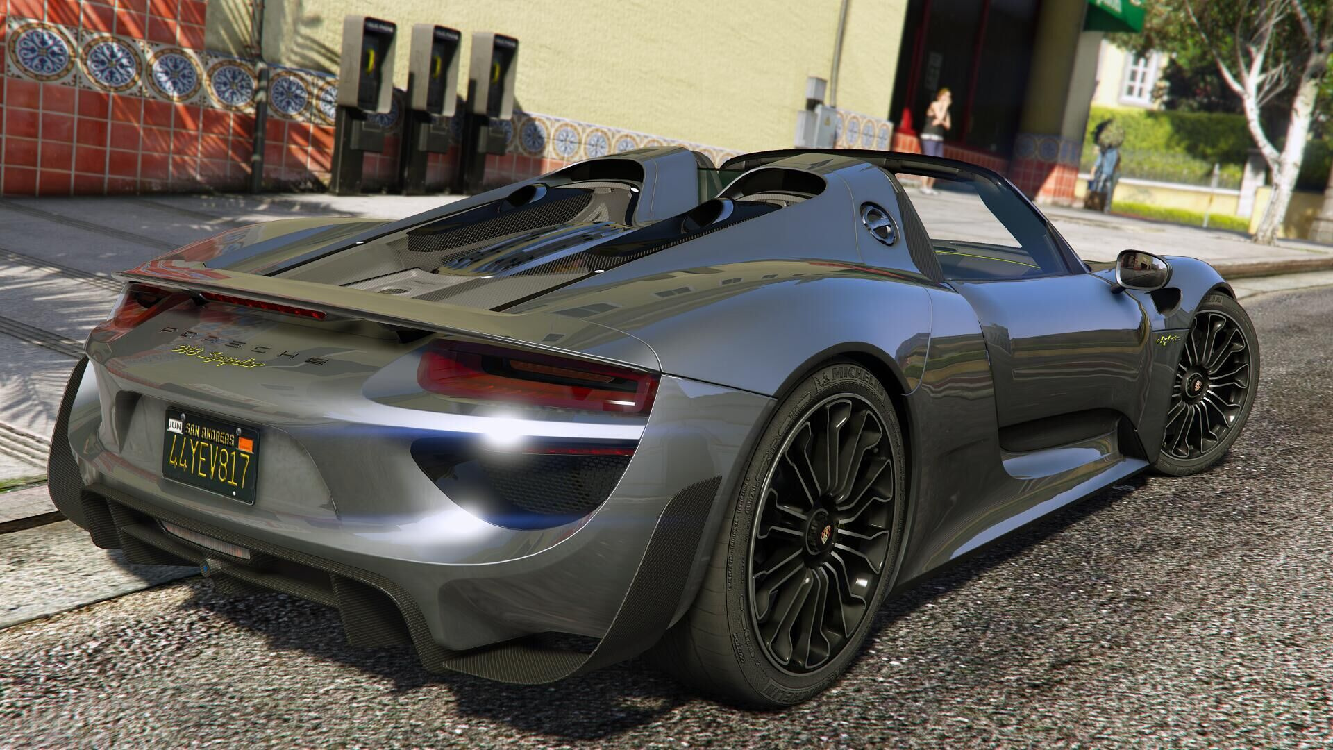 2015 Porsche 918 Spyder & Weissach Kit [Add-On | Wipers ...