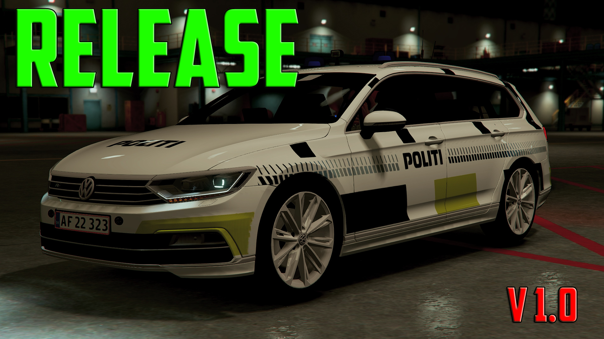 2015 volkswagen passat r line danish police template gta5. Black Bedroom Furniture Sets. Home Design Ideas
