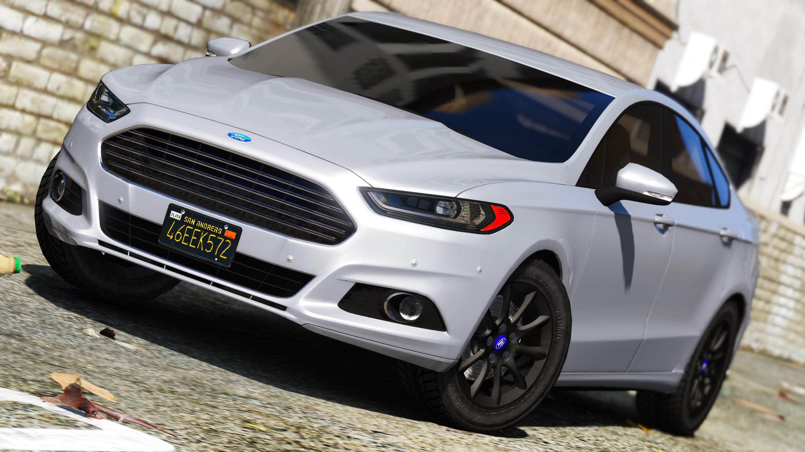 Ford Fusion Mods >> 2016 2017 Ford Mondeo Fusion Saloon Dev Version Gta5 Mods Com