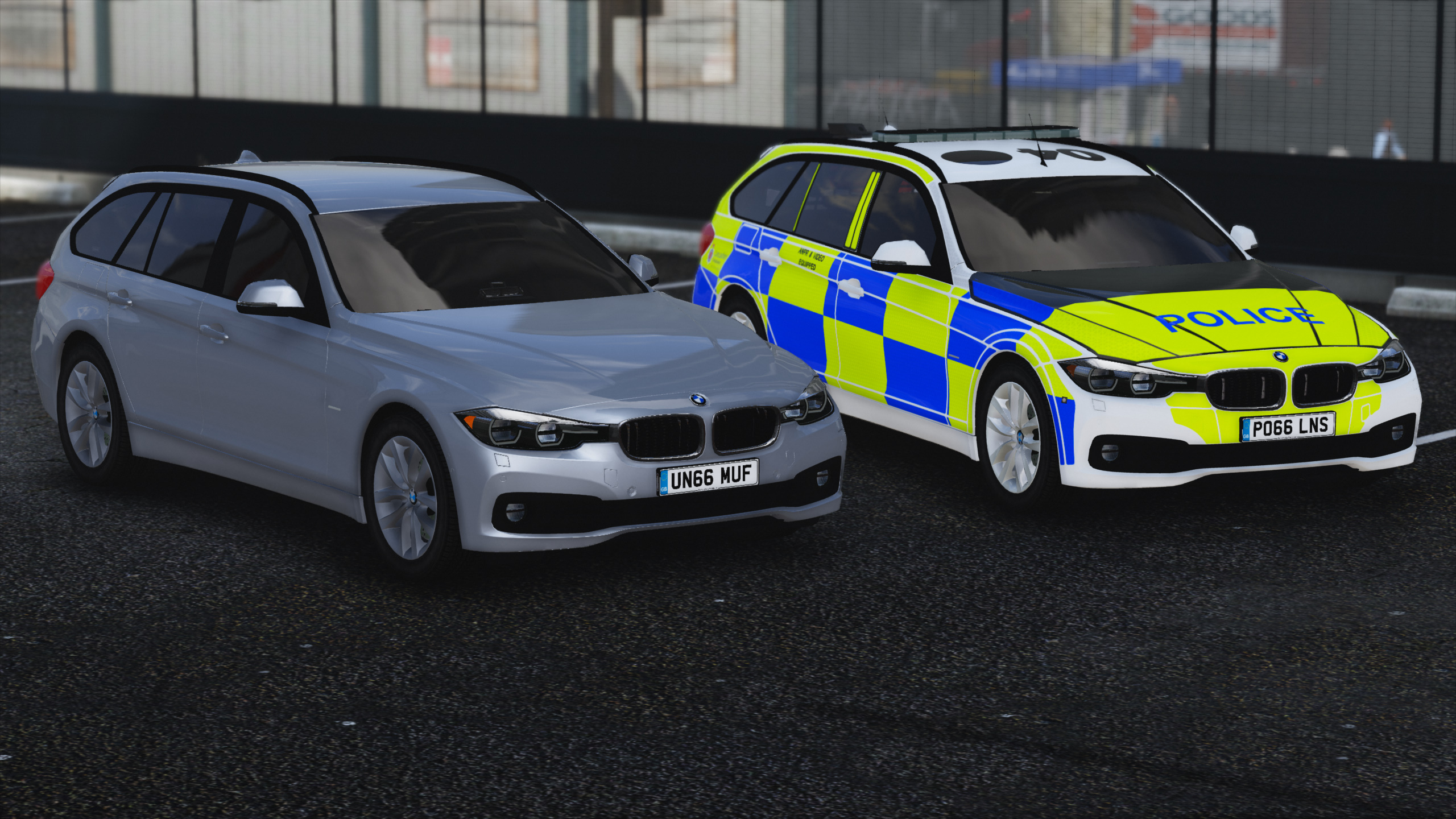 Bmw 5 series touring police 2013 uk wallpapers and hd images car - C91fa4 Gta5 2017 01 18 22 50 37 951