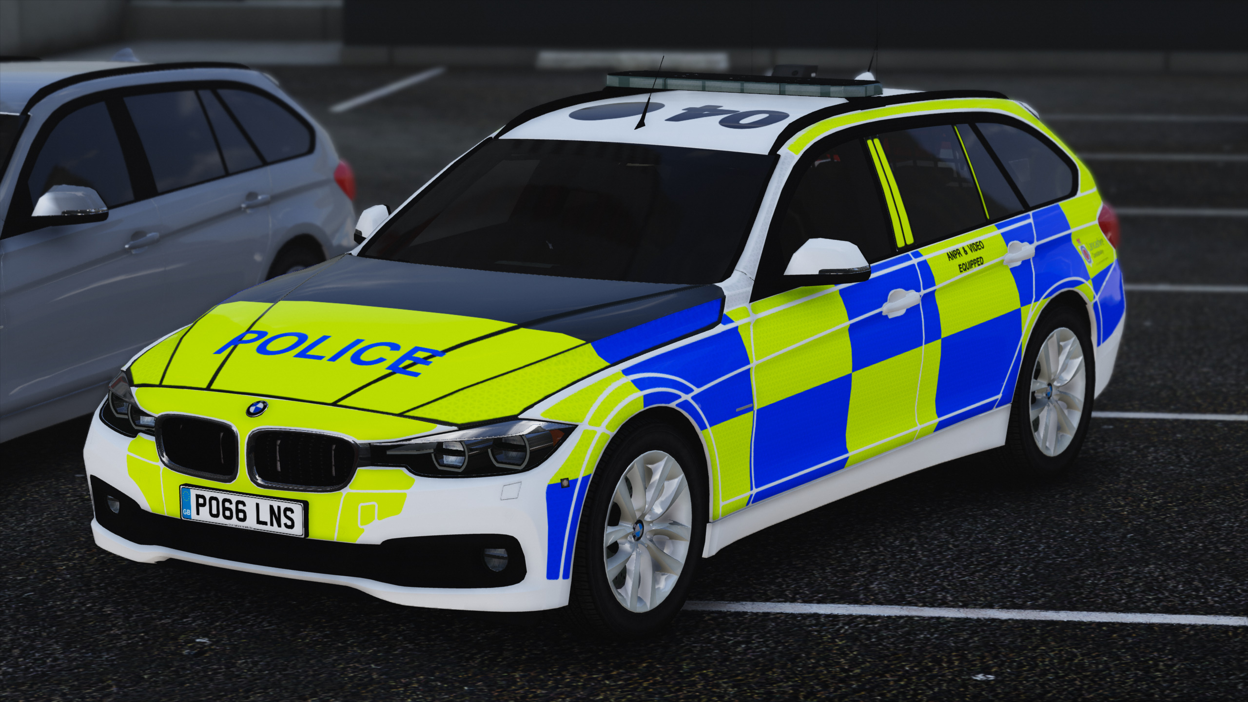 2016 2017 police bmw 330d touring els gta5. Black Bedroom Furniture Sets. Home Design Ideas