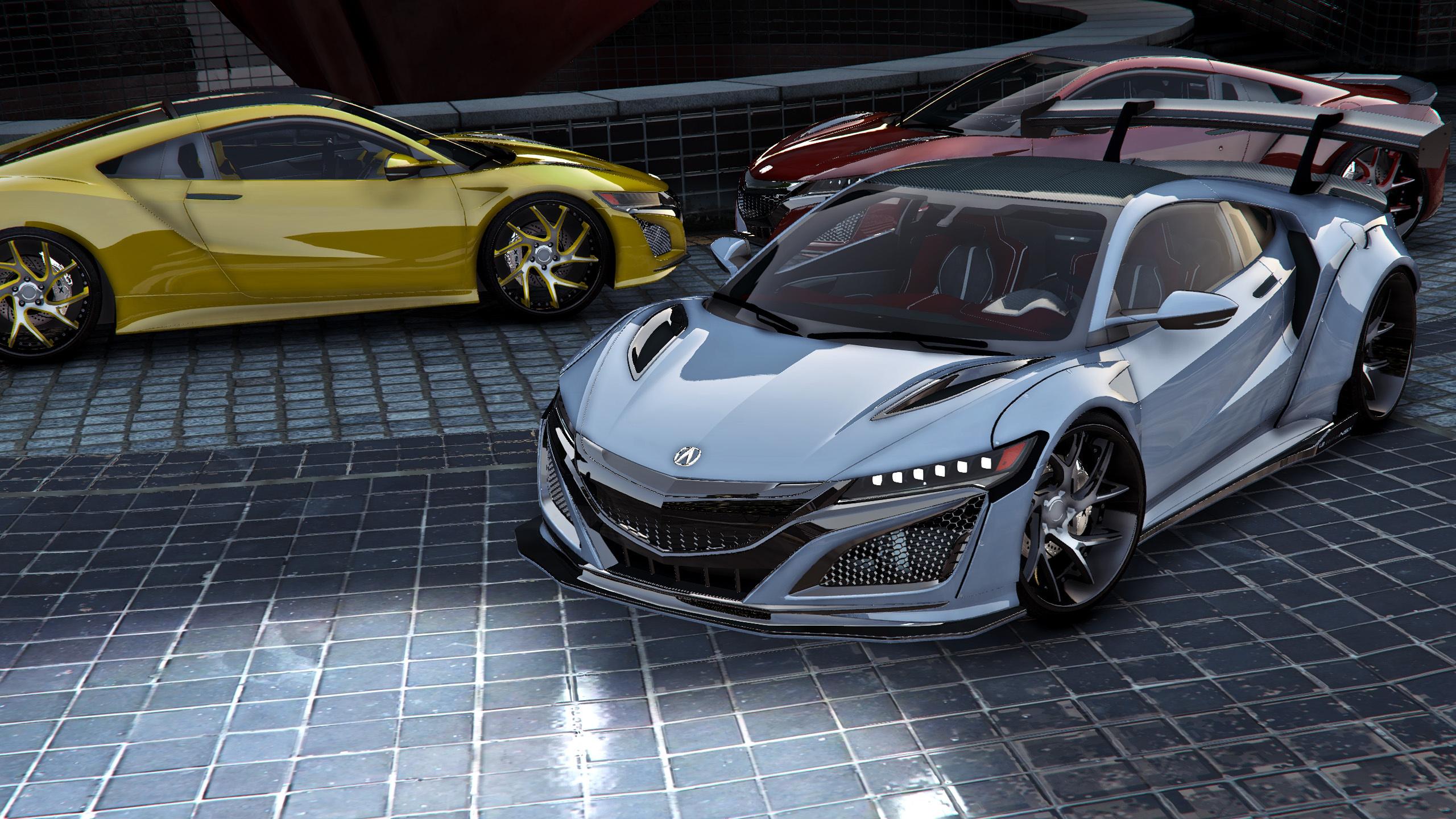 Acura NSX (F7LTHY) Liberty Walk [Add-On