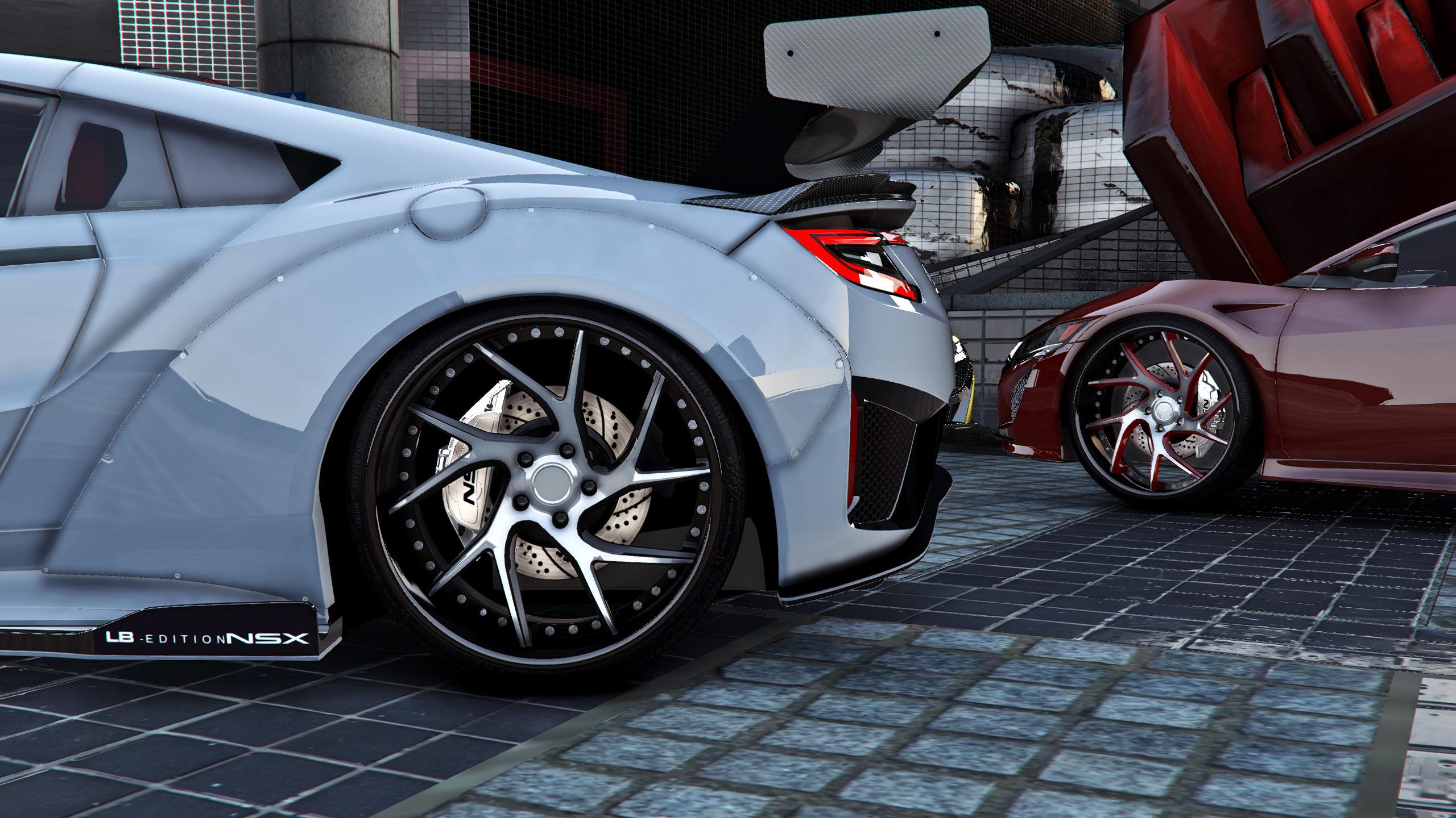 Acura Nsx F7lthy Liberty Walk Add On Tuning Gta5