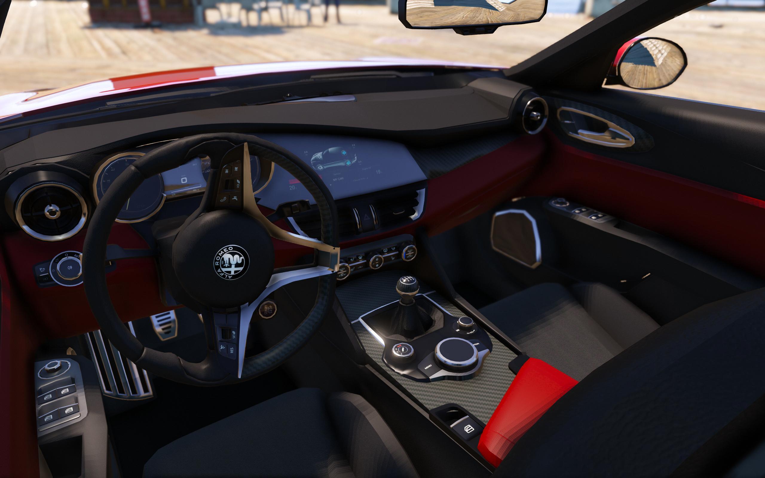 2016 Alfa Romeo Giulia Quadrifoglio [Add Livery