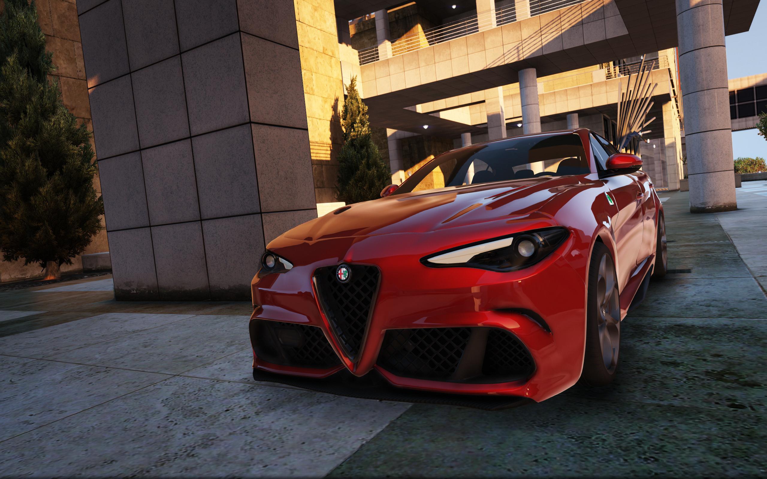 2016 Alfa Romeo Giulia Quadrifoglio [Add-On | Liveries ...