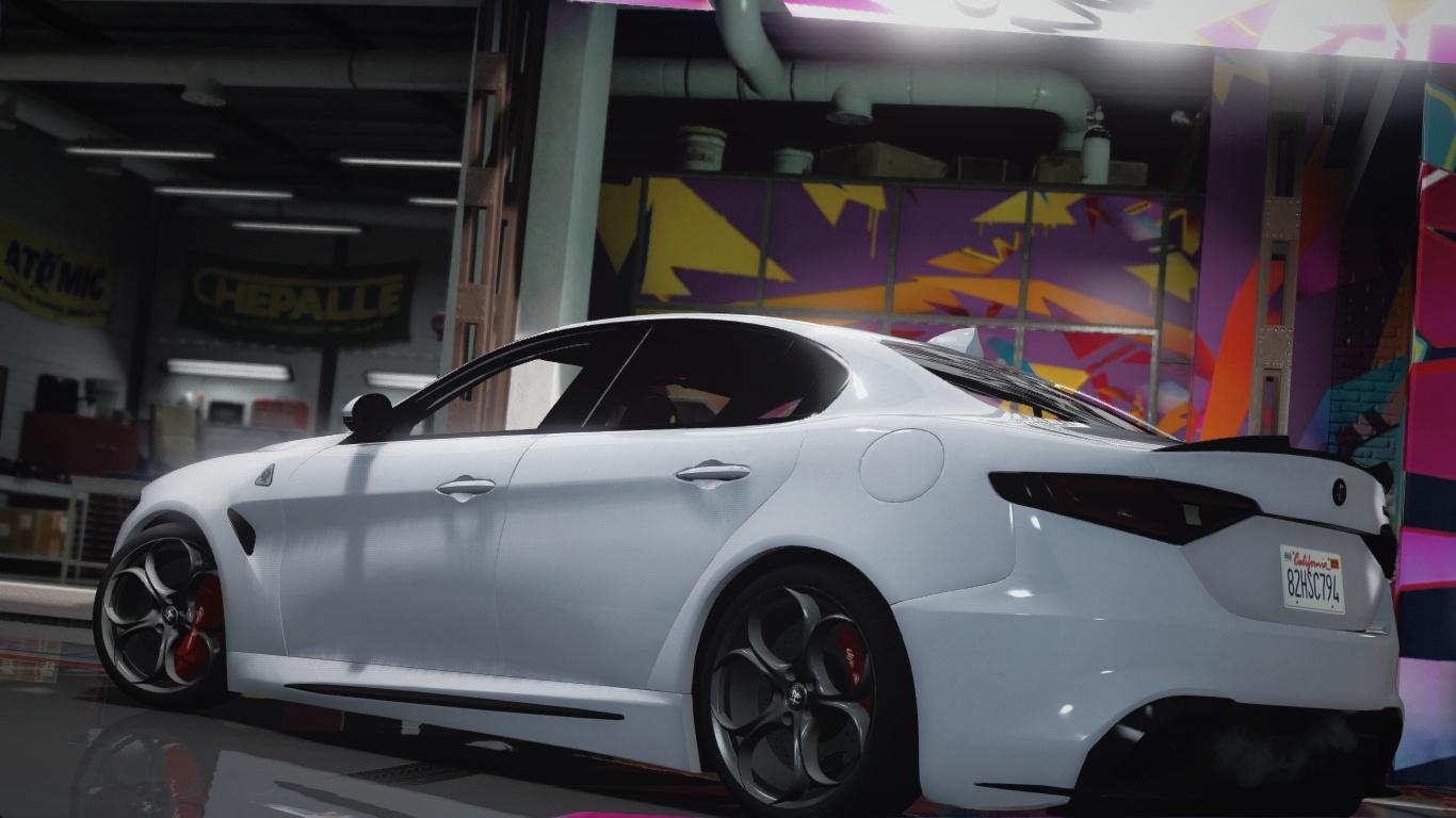 2016 Alfa Romeo Giulia Quadrifoglio [AddOn  Livery  HQ]  GTA5Mods.com