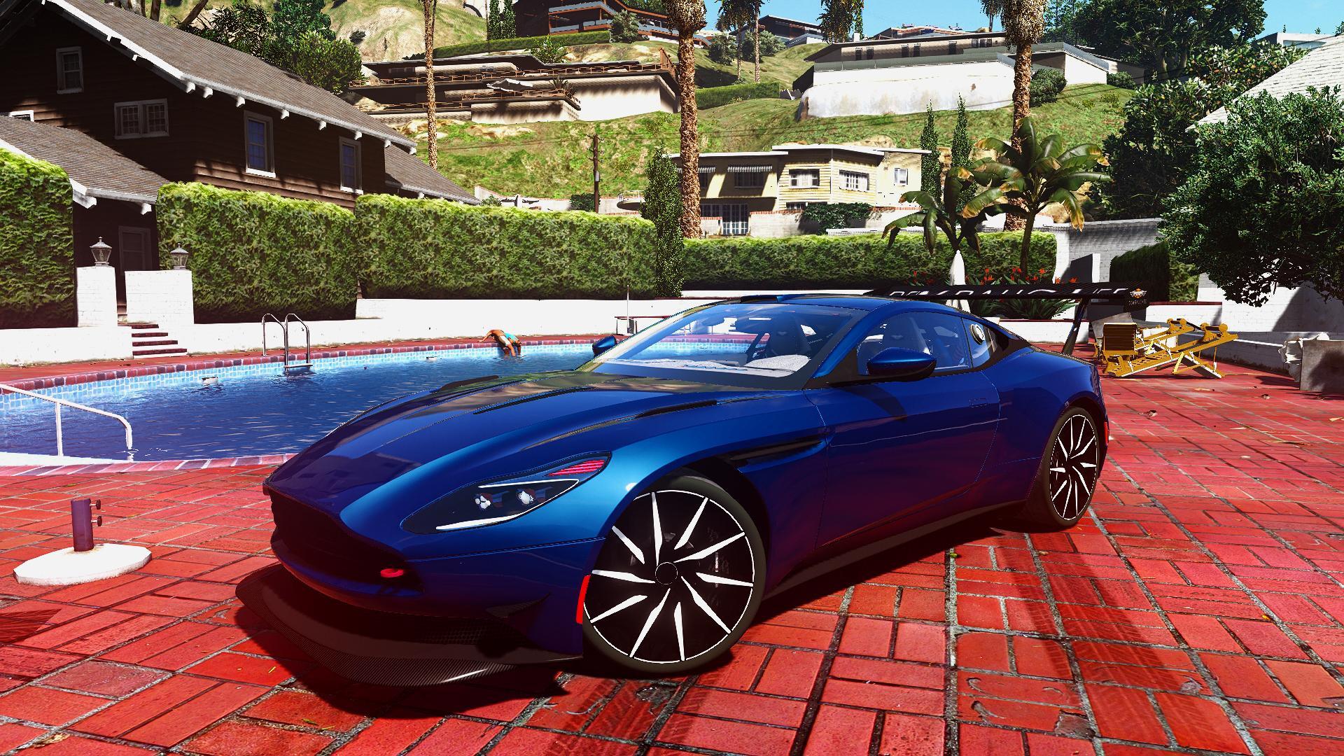 2016 Aston Martin Db11 Add On Replace Unlocked Tuning Gta5 Mods Com