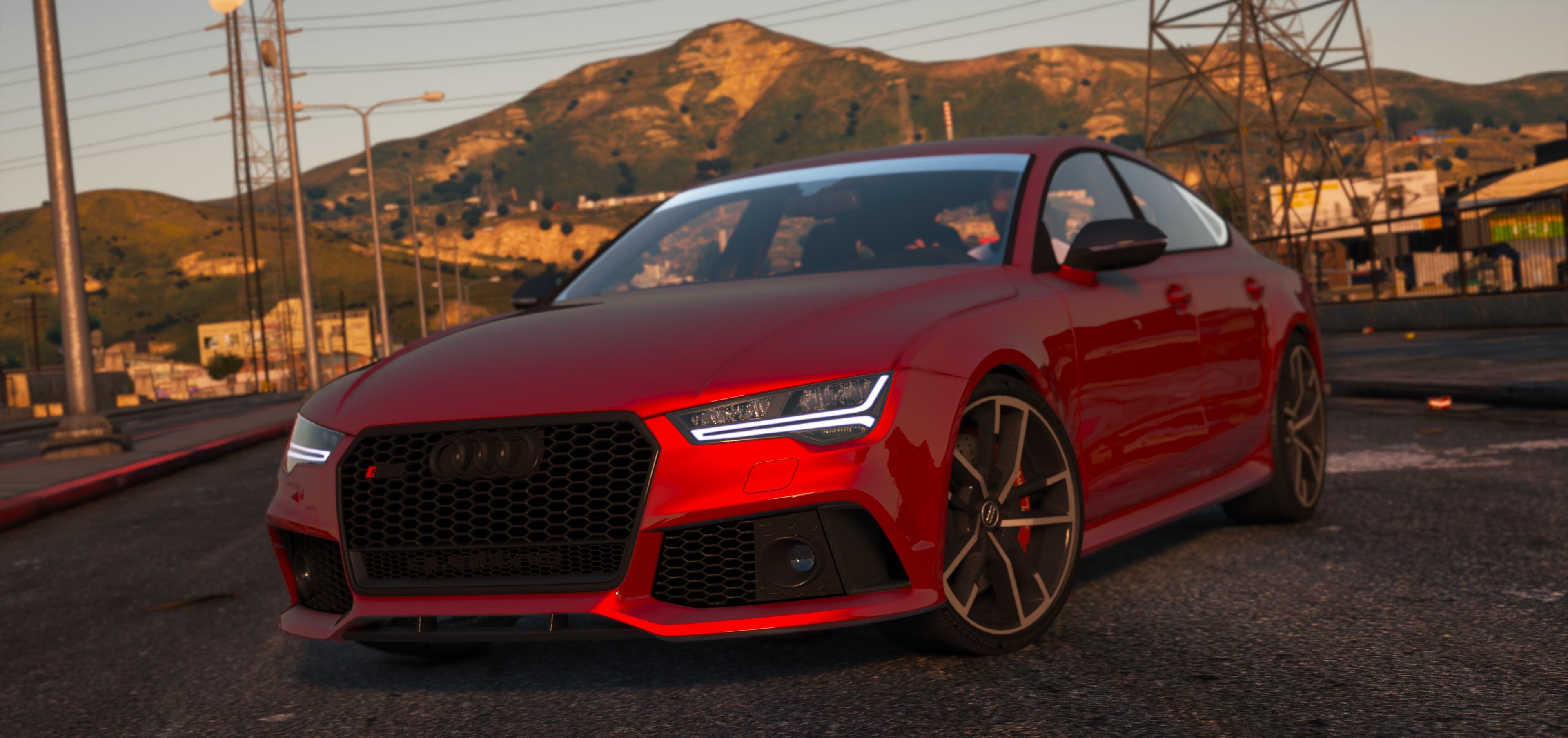 2016 Audi RS7 GTA5 Mods