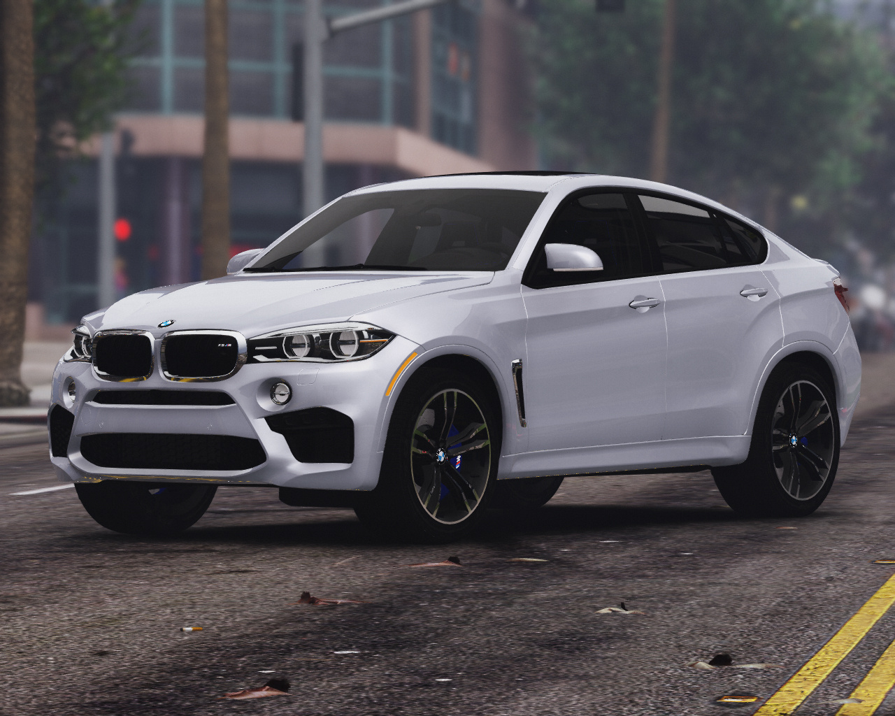 2016 bmw x6m f16 add on tuning template gta5. Black Bedroom Furniture Sets. Home Design Ideas