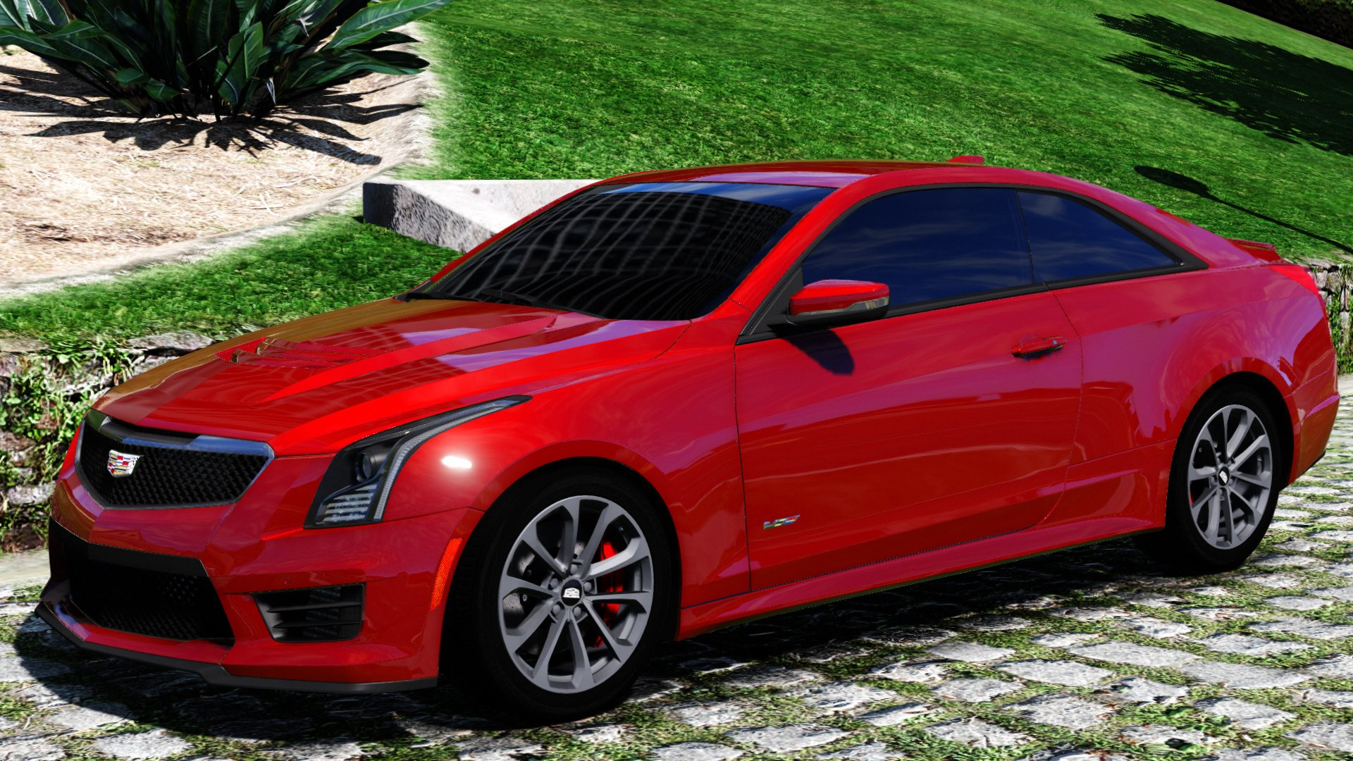 2016 Cadillac Ats V Coupe Add On Replace Gta5 Mods Com