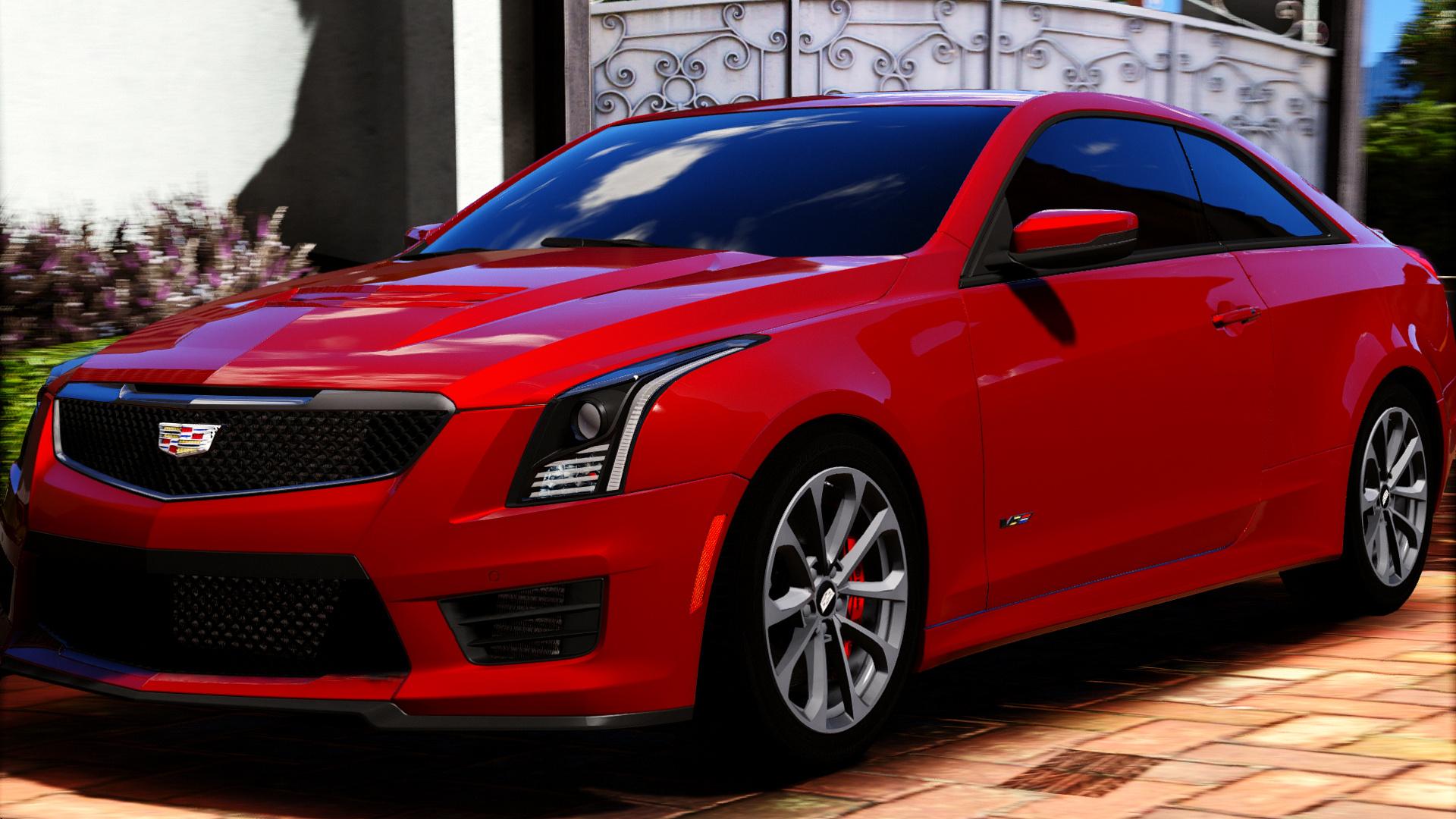 F O on Cadillac Cts V Engine