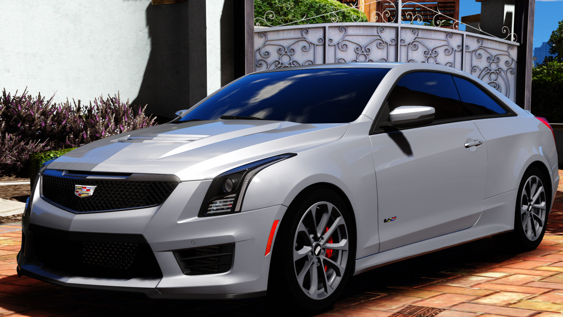 Cadillac Ats V Coupe >> 2016 Cadillac ATS-V Coupe [Add-On / Replace] - GTA5-Mods.com