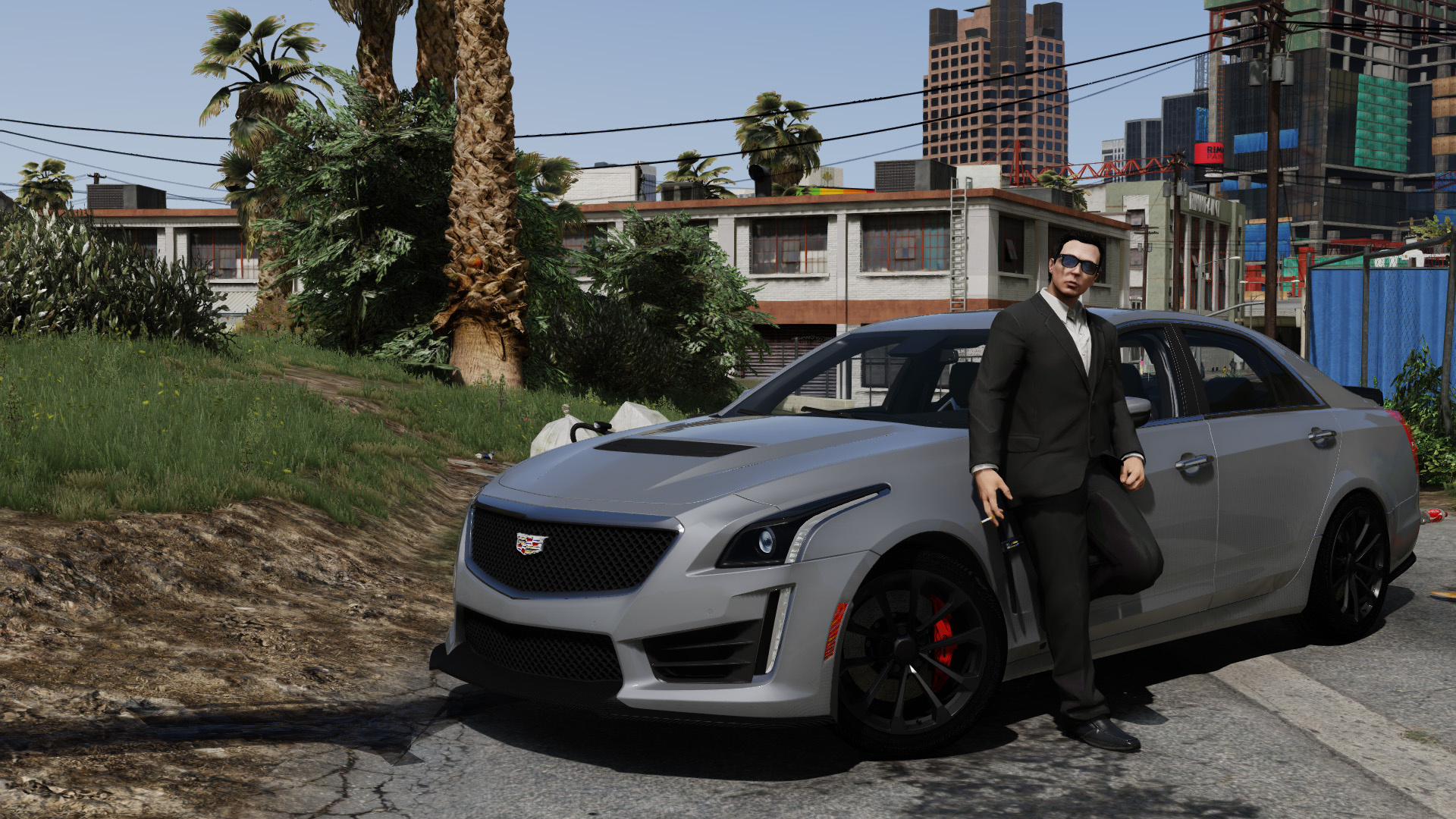 2016 Cadillac Cts V Add On Replace Gta5 Mods Com