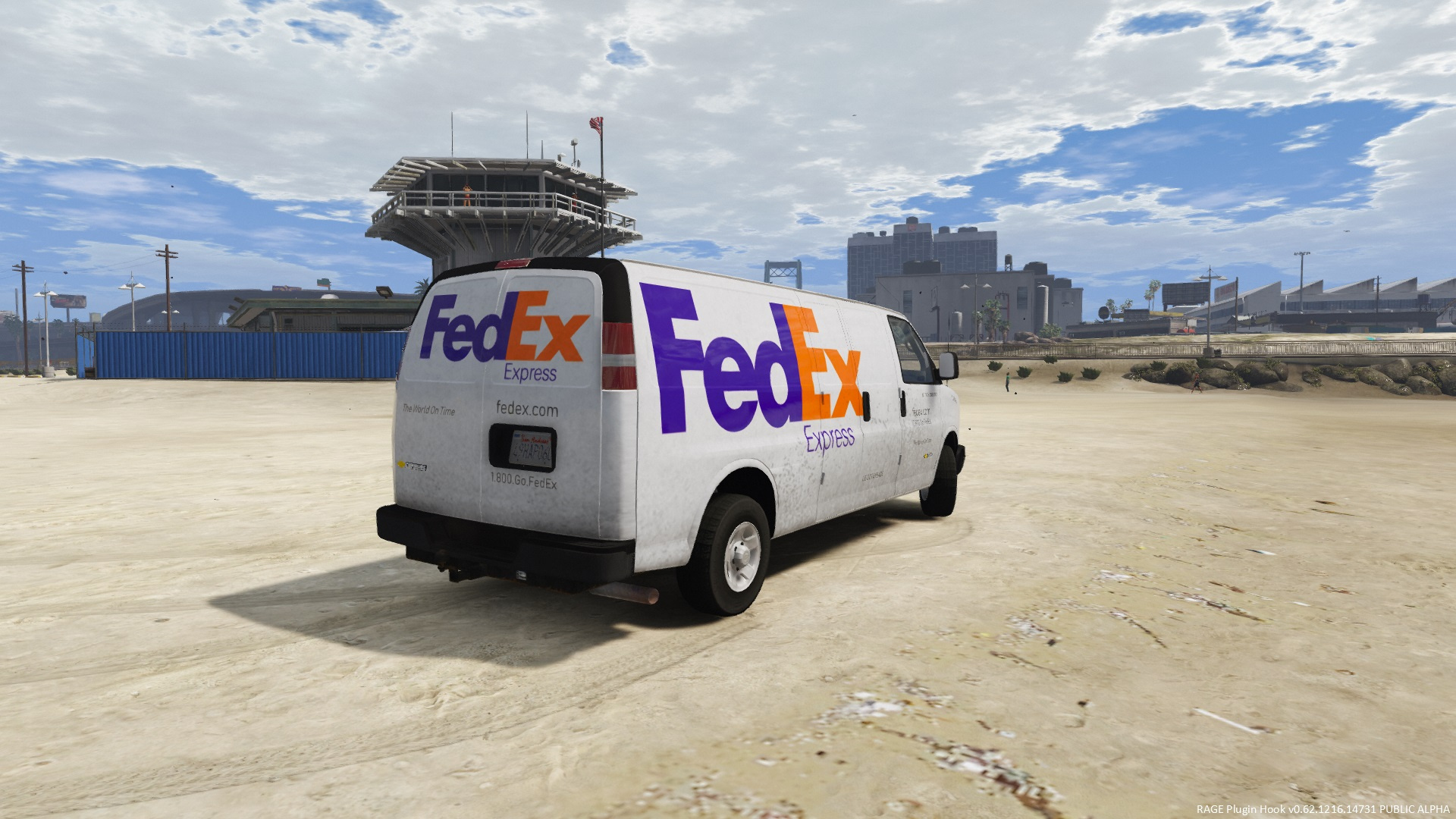 2016 Chevy Express 3500 FedEx Express/Ground/Home Delivery ...