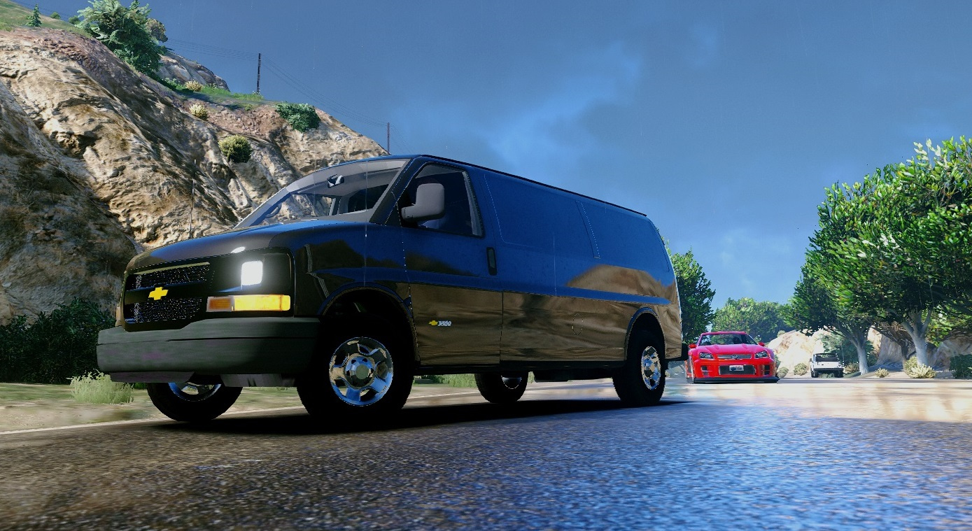 2016 chevy express 3500 unlocked template extras gta5. Black Bedroom Furniture Sets. Home Design Ideas