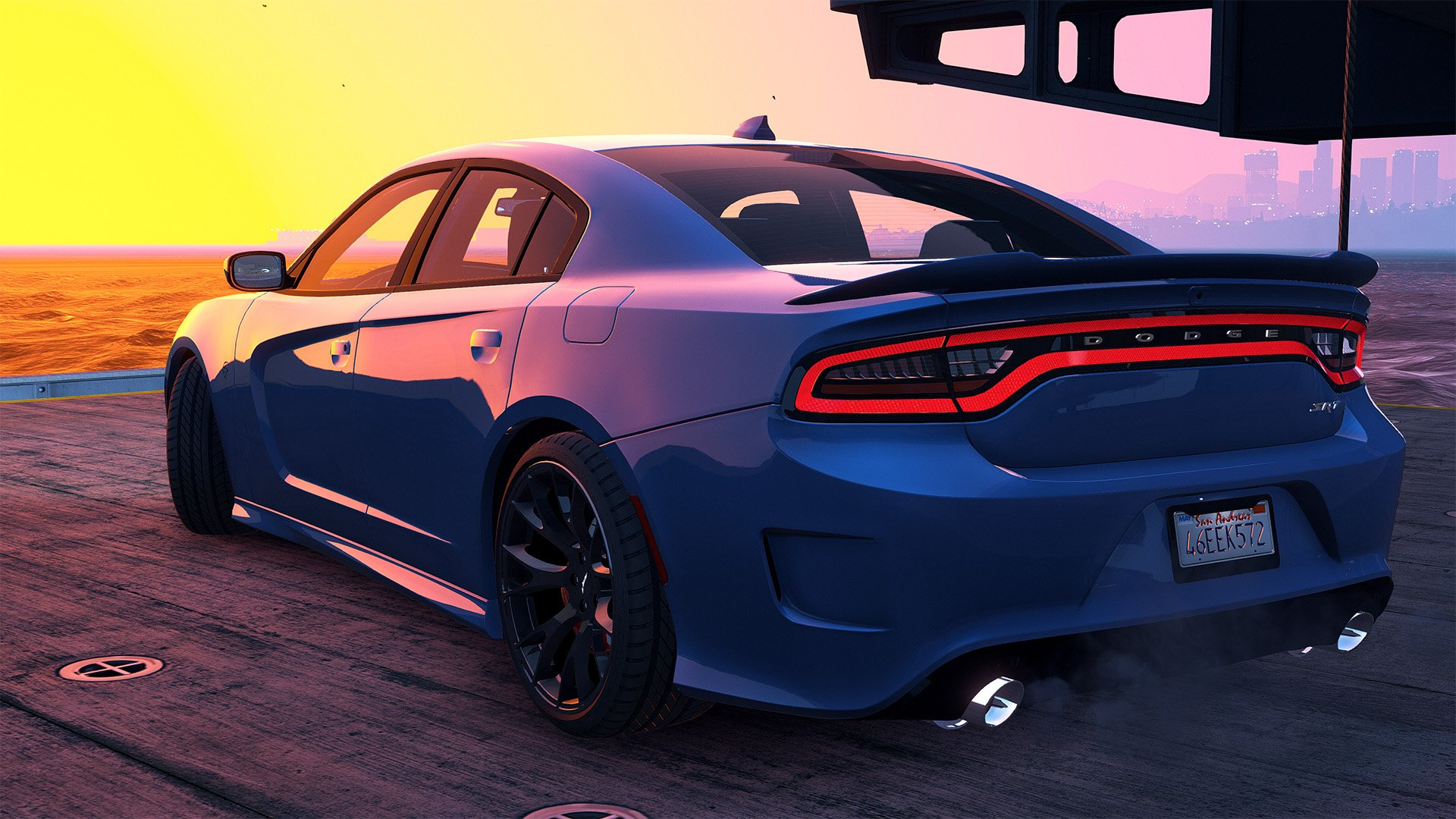 2 Door Charger Hellcat >> 2016 Dodge Charger SRT Hellcat [Add-On | Replace | Animated | Template | Analog / Digital-Dials ...