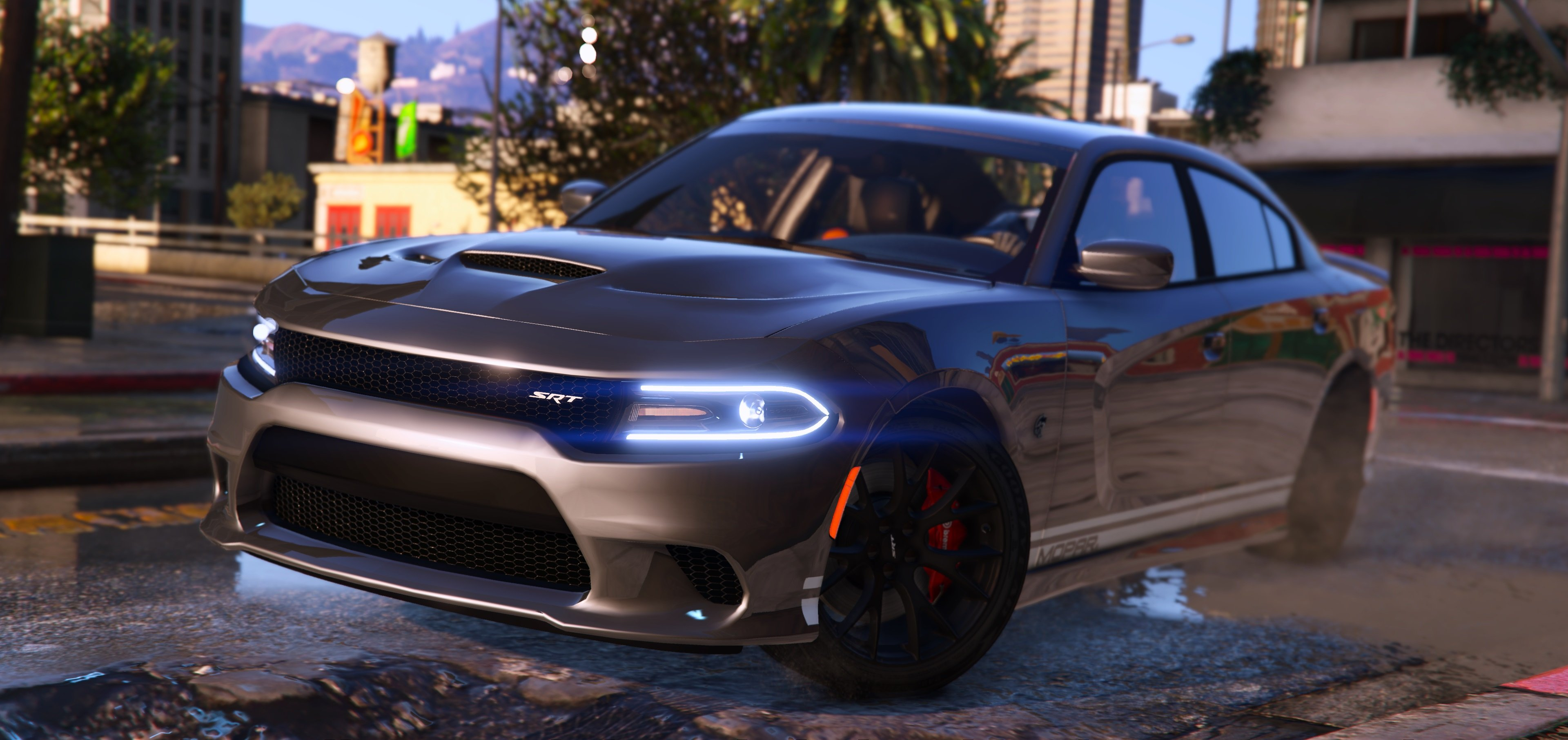 2016 Dodge Charger Sxt R T Srt 392 Hellcat Gta5 Mods Com