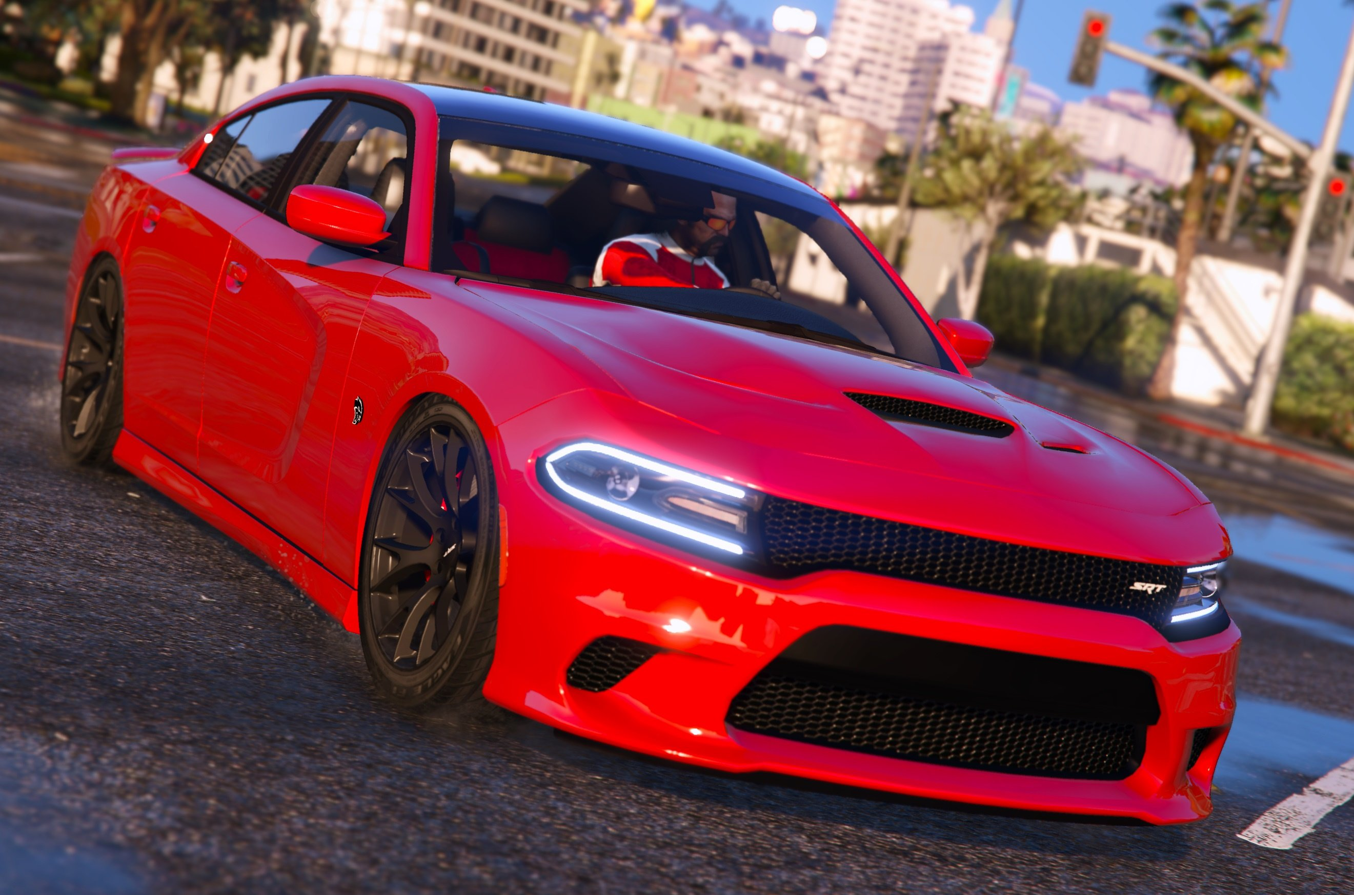 2016 Dodge Charger SXT R T SRT 392 Hellcat GTA5 Mods