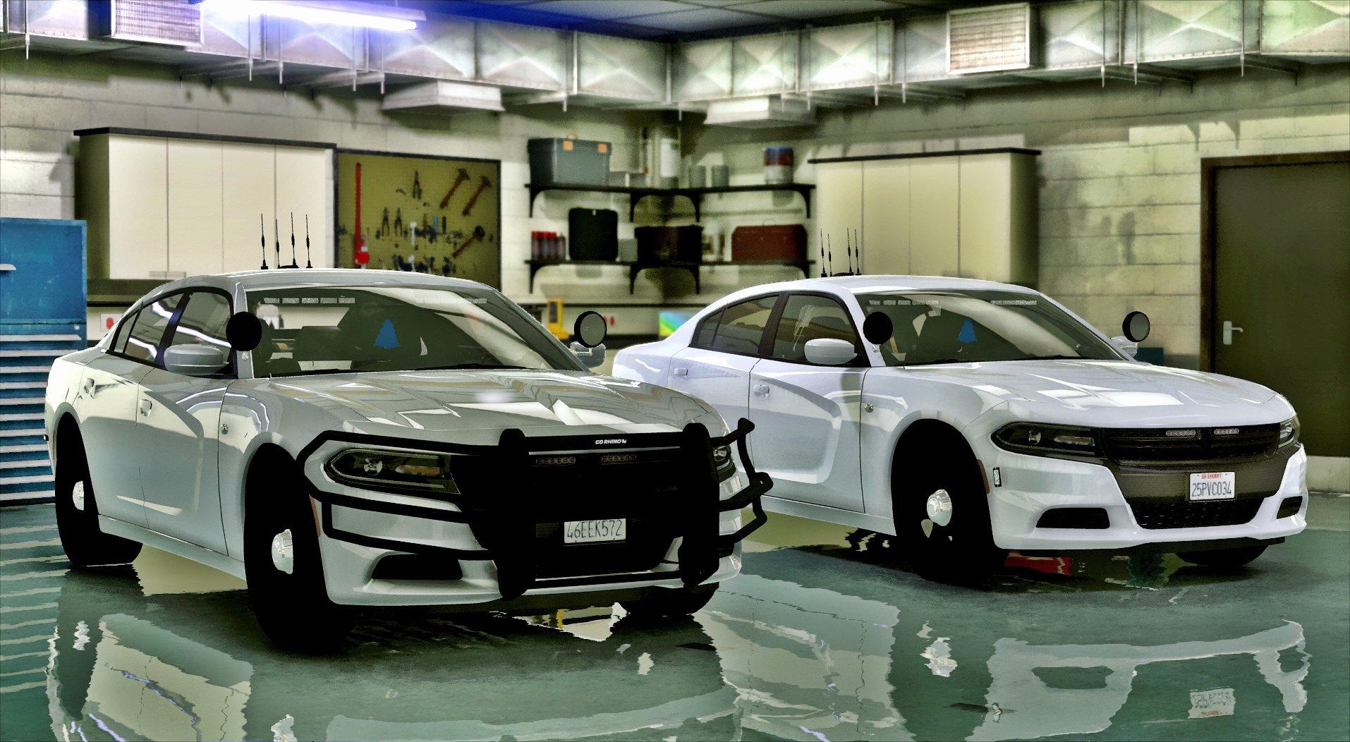 2016 Unmarked Dodge Charger [ELS] - GTA5-Mods com