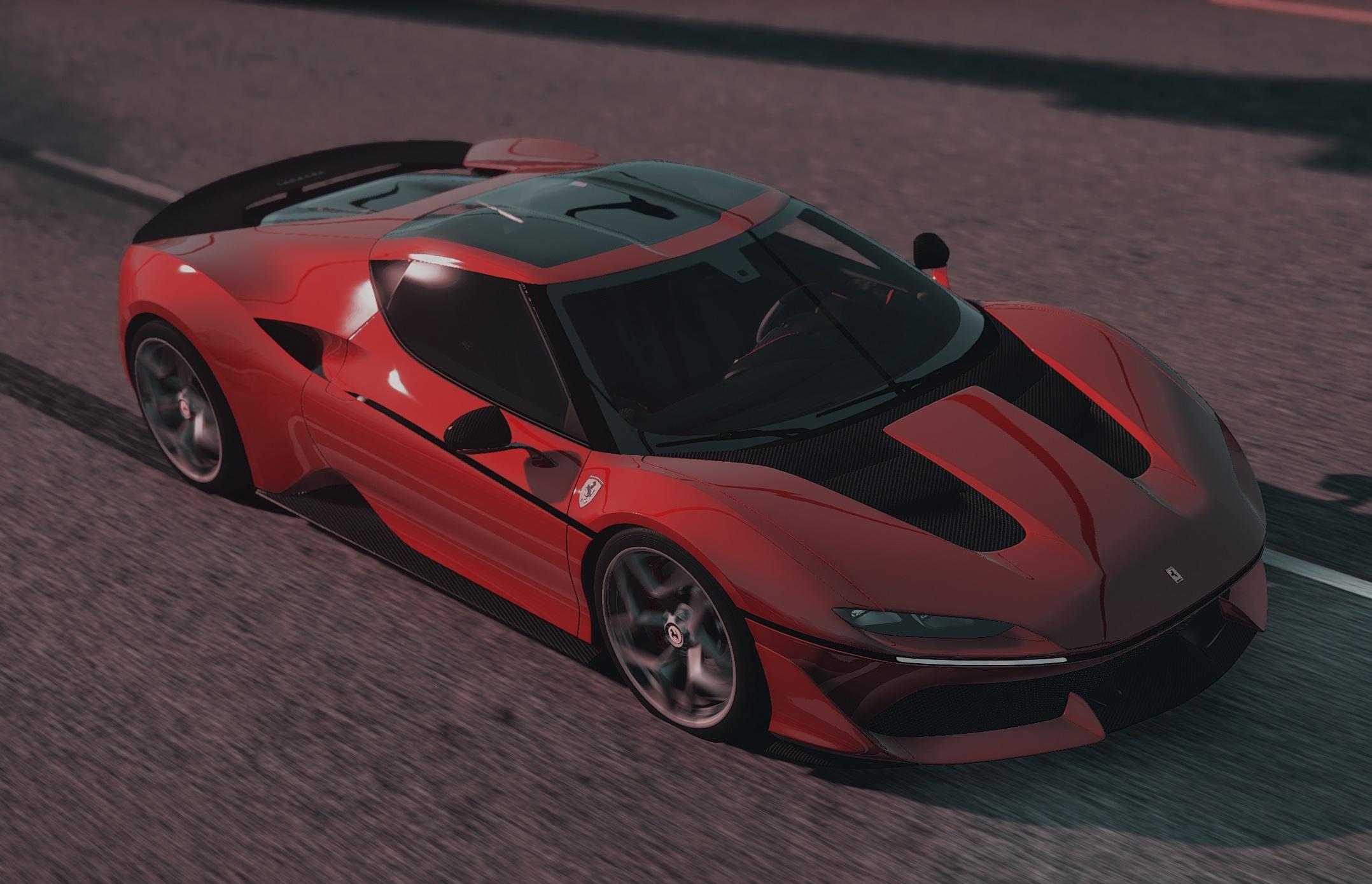 2017 Ferrari J50 Limited Add On Hq Gta5 Mods Com