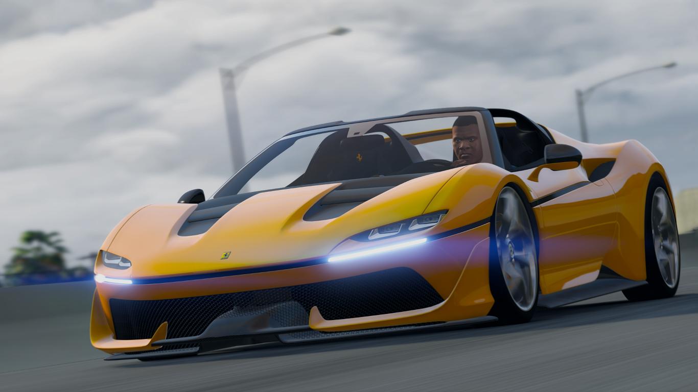 2017 Ferrari J50 (Limited)[Add-On/HQ]