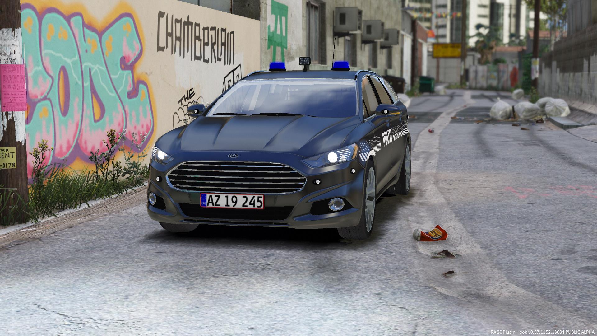 2016 ford mondeo mk5 estate danish police dog unit els replace gta5. Black Bedroom Furniture Sets. Home Design Ideas