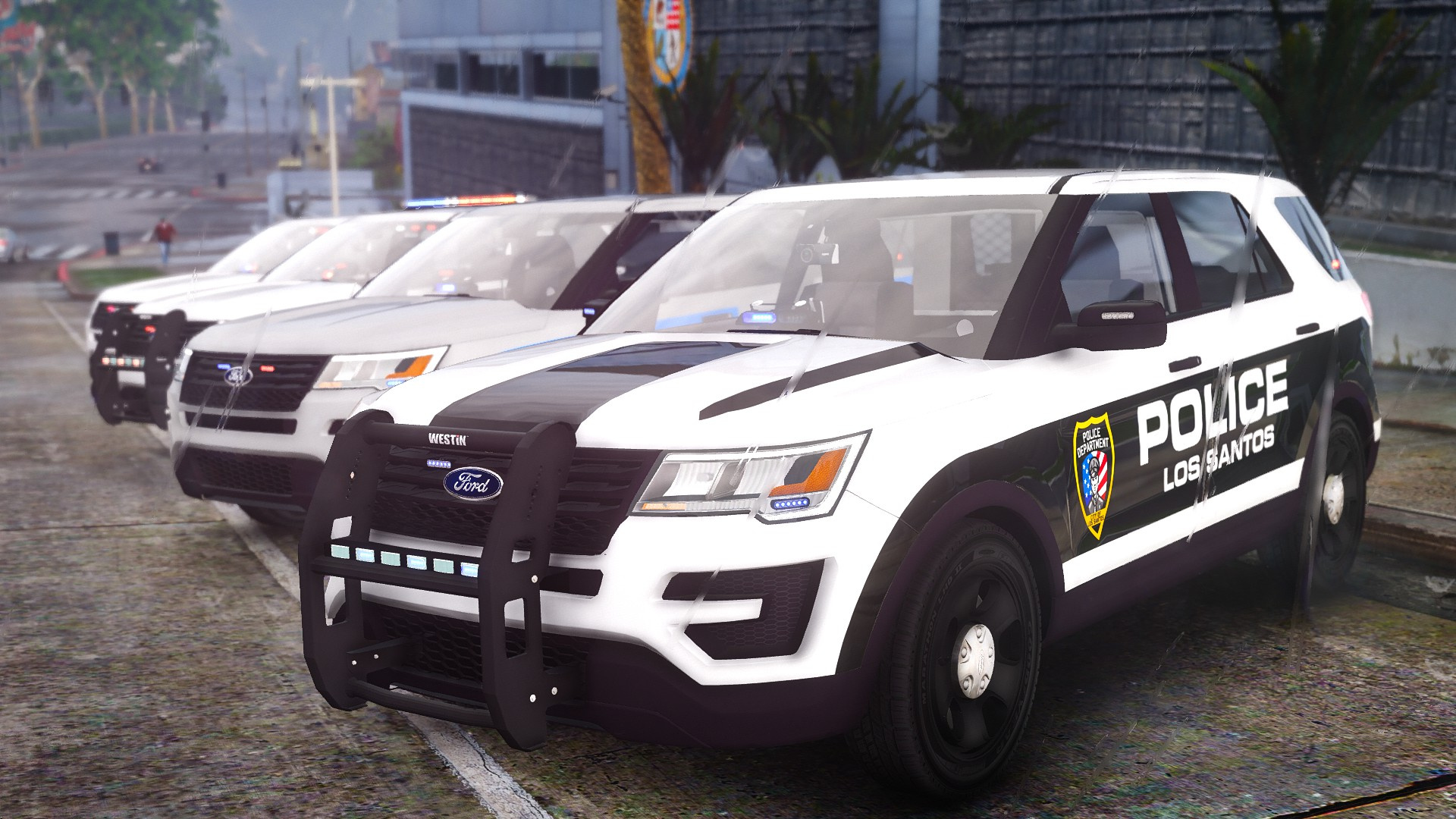 2016 Ford Police Interceptor Utility 4K Skin Pack - GTA5 ...