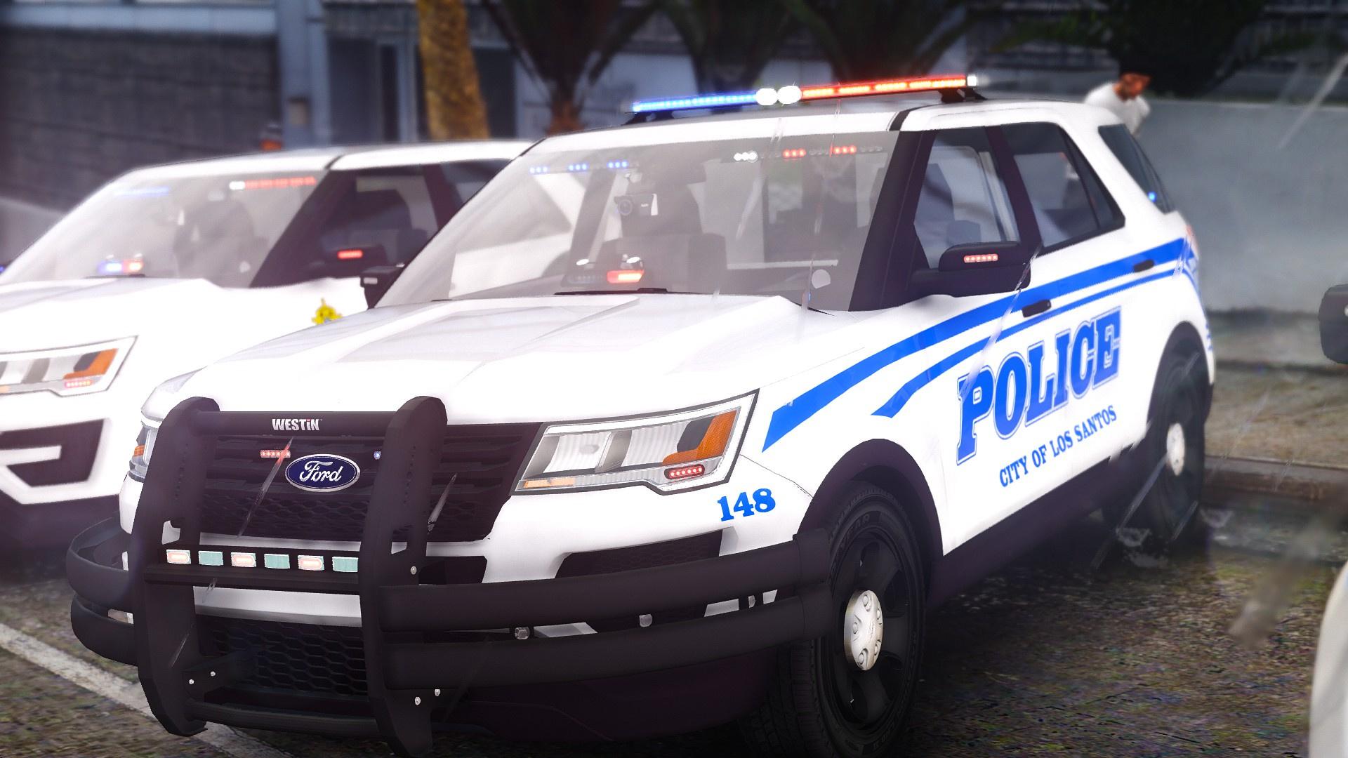 Cool 2016 Ford Police Interceptor Utility 4K Skin Pack  GTA5Modscom